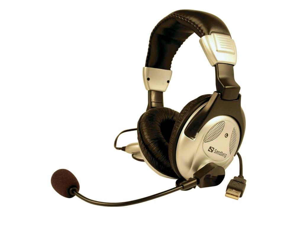 sandberg auricolari  Sandberg USB HeadSet (125-50)