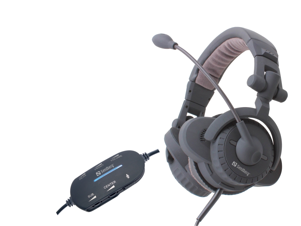 USB Surround Sound Headset 5.1