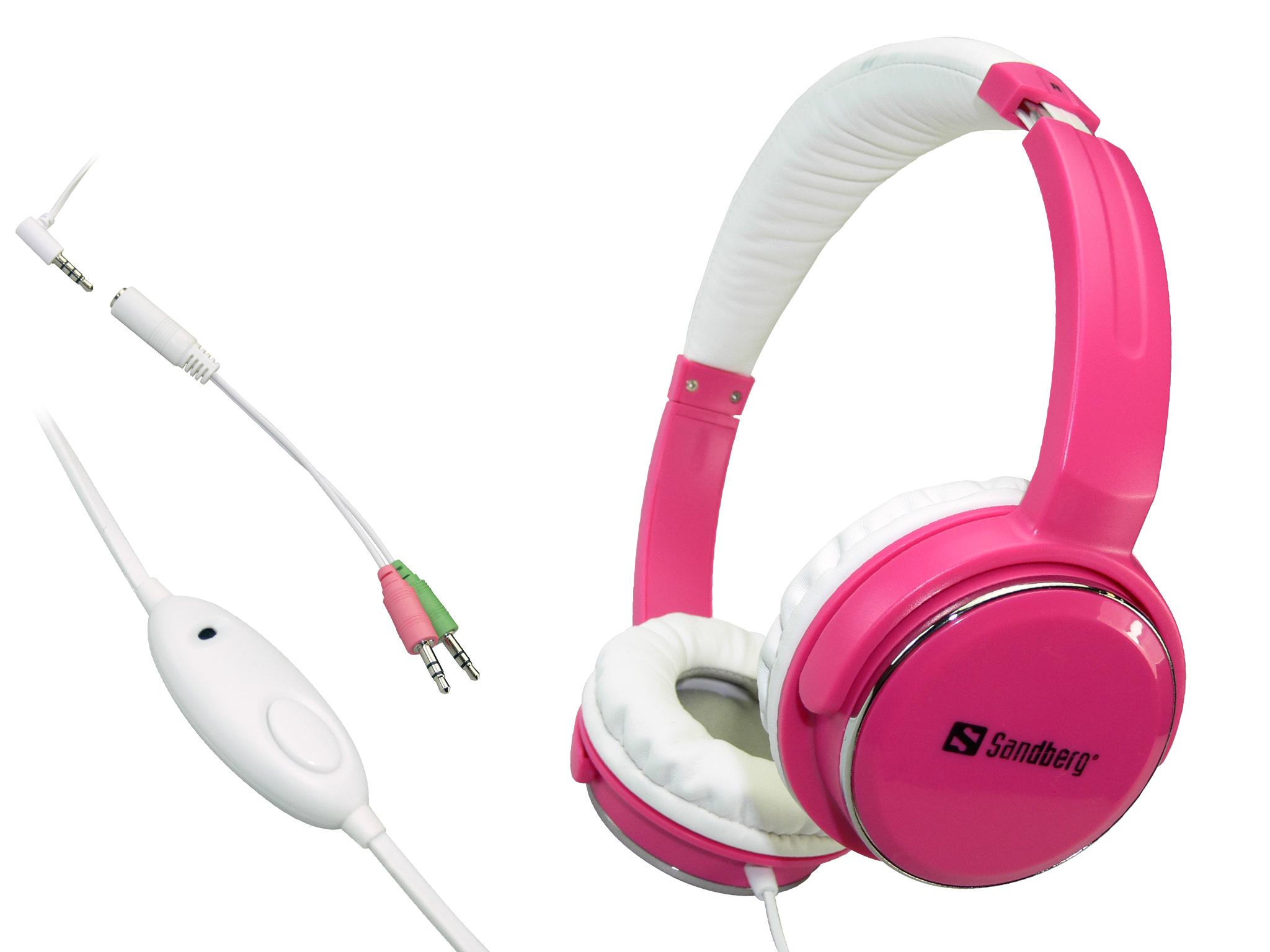 Home'n Street Headset Pink