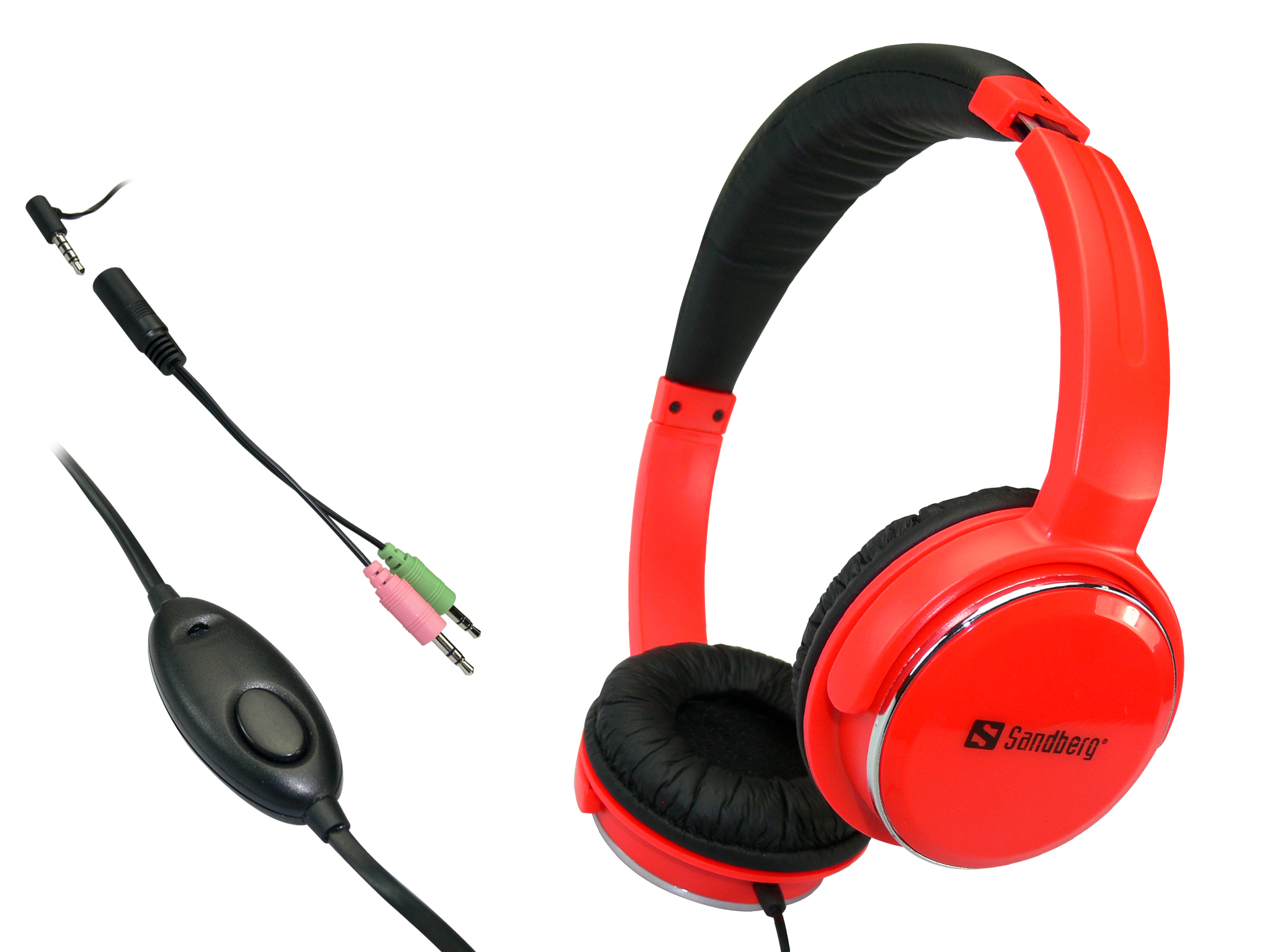 Home'n Street Headset Red