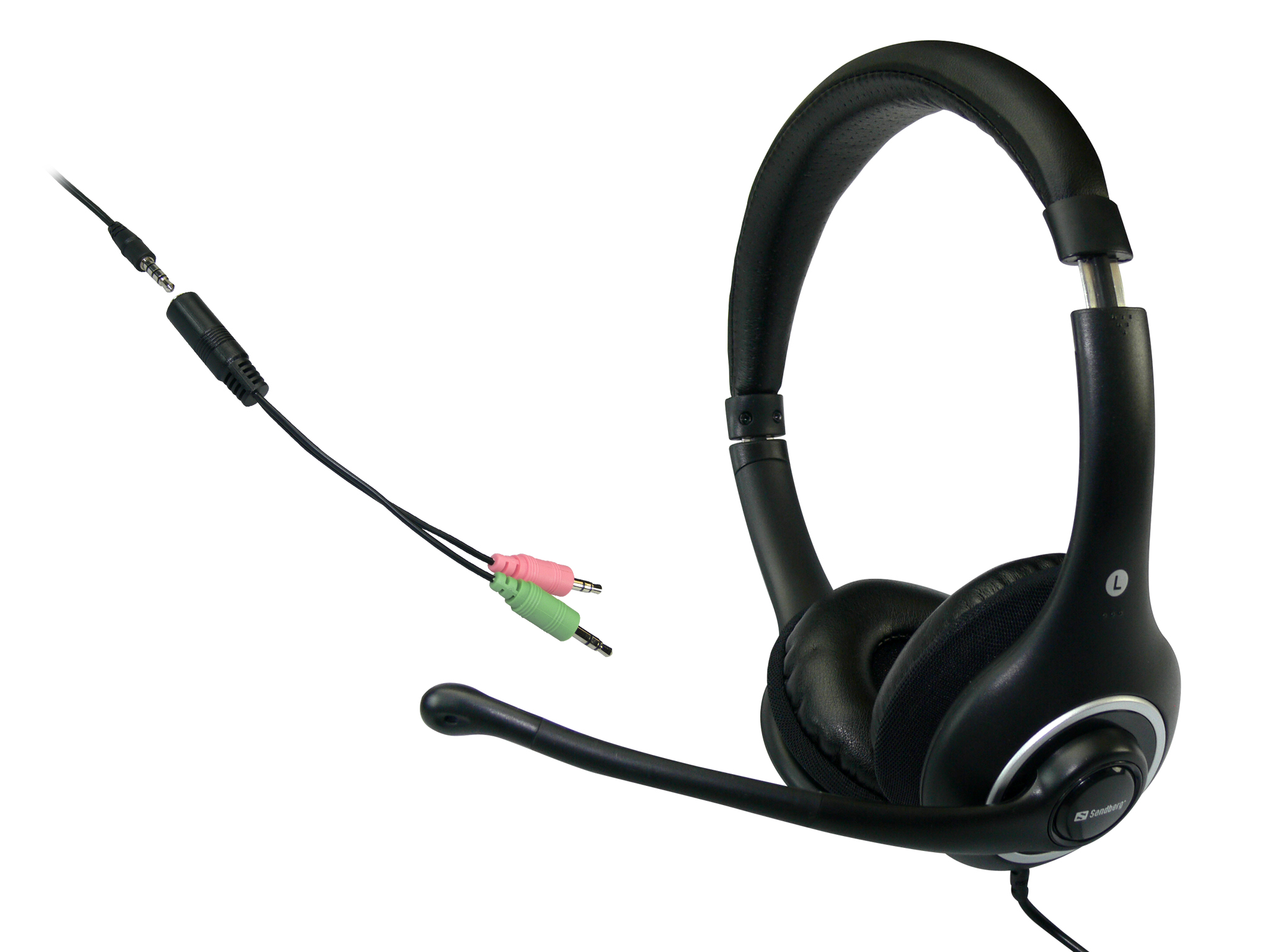 Plug'n Talk Headset Black