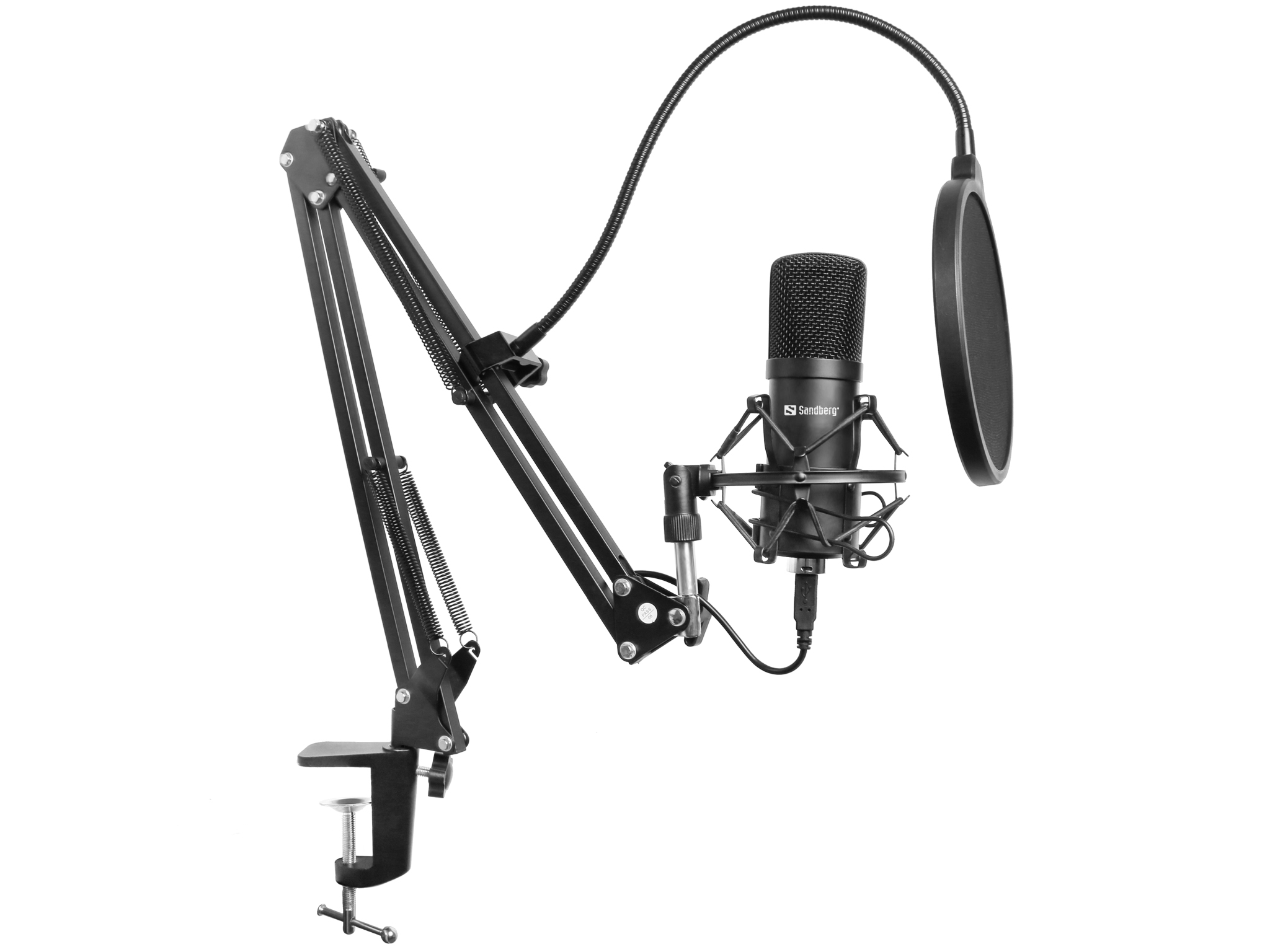 Streamer USB Microphone Kit