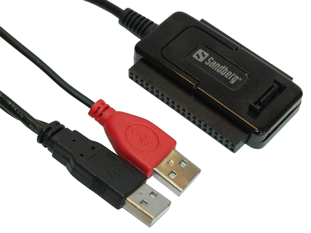 USB All-In-1 Hard Disk Link