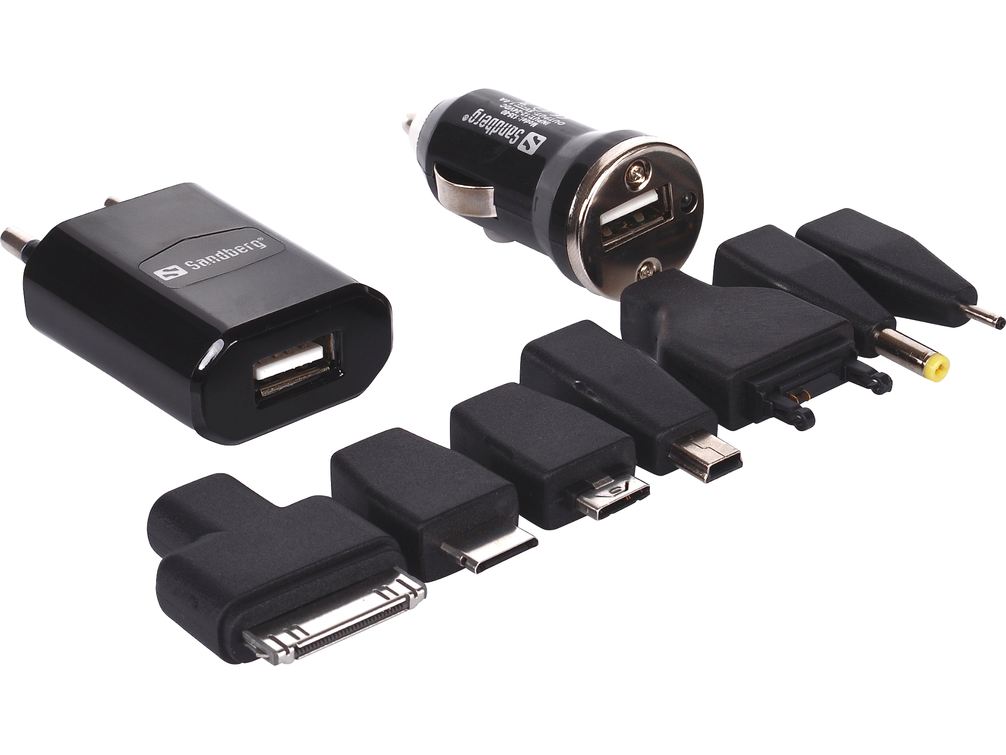 Charge Kit AC+Car 1A