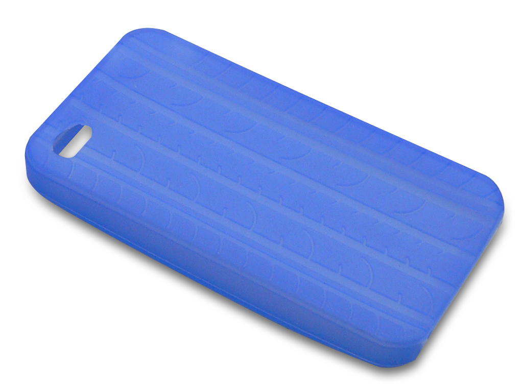 Cover 4/4S tire track Blue