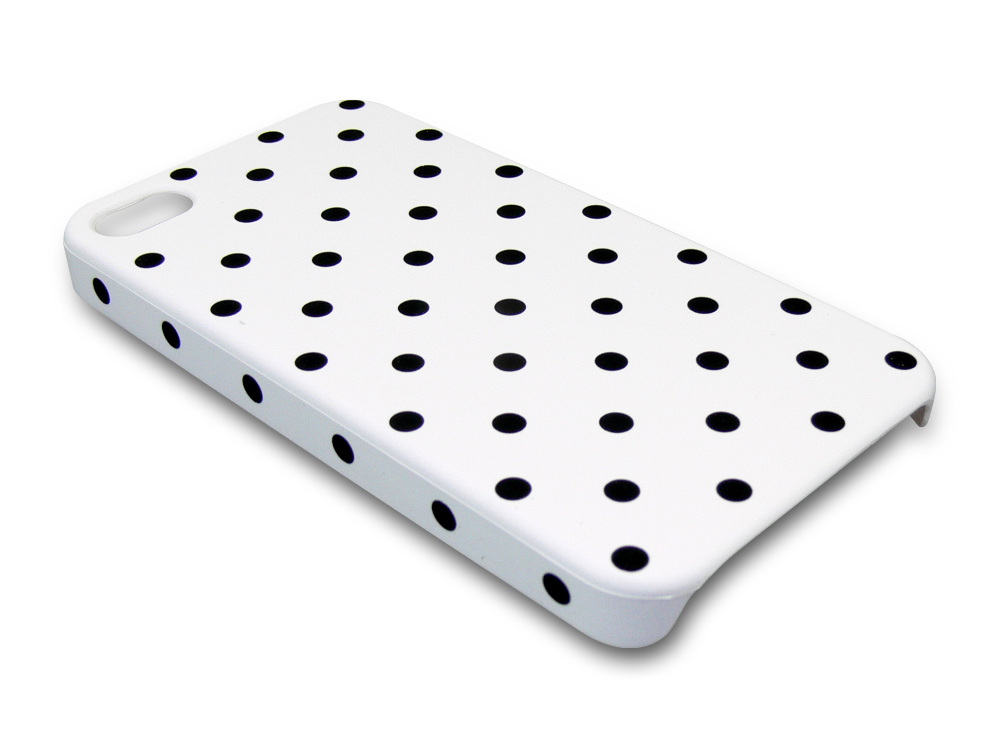 Cover 4/4S dot pattern White
