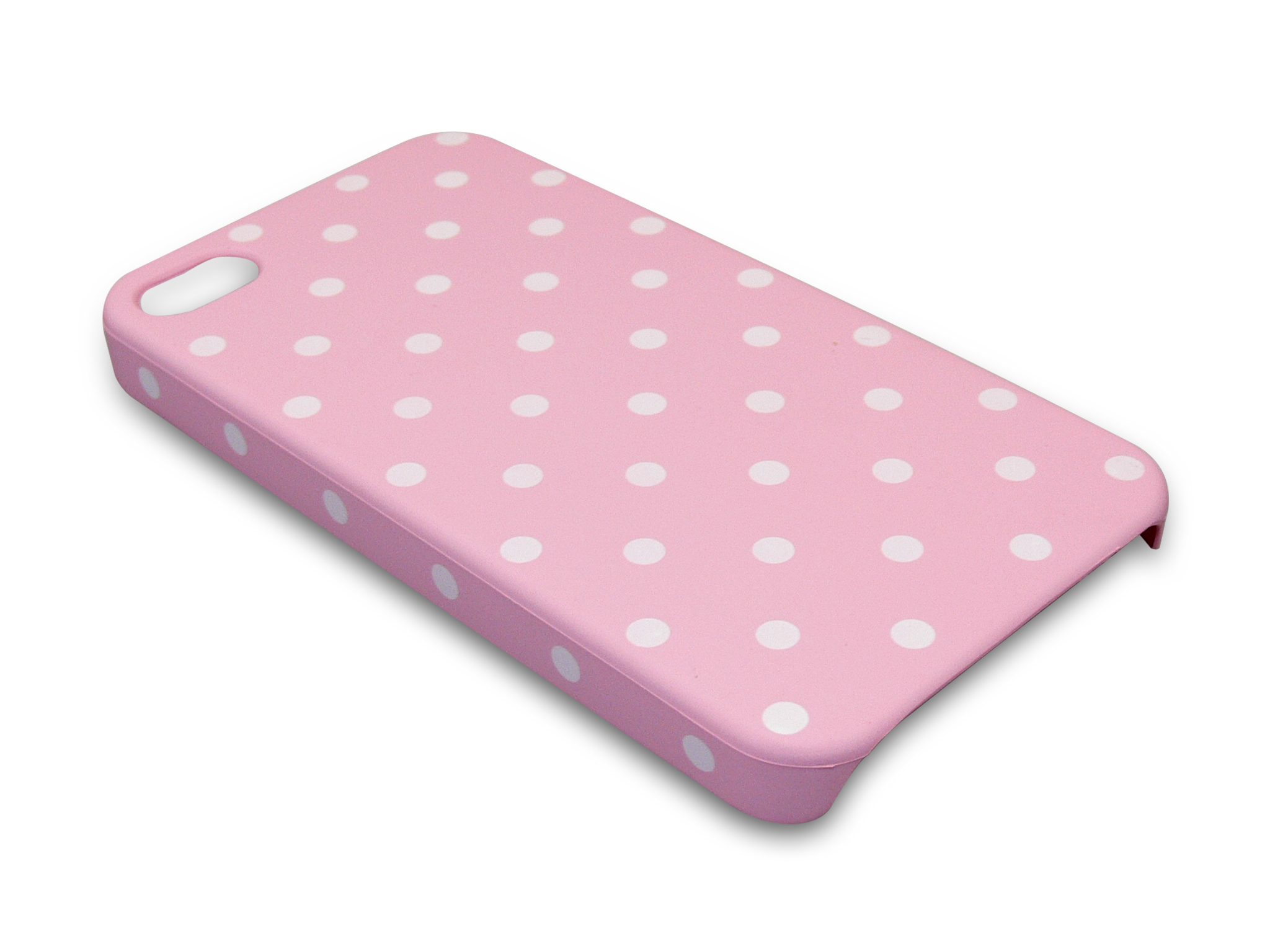 Cover 4/4S dot pattern Pink