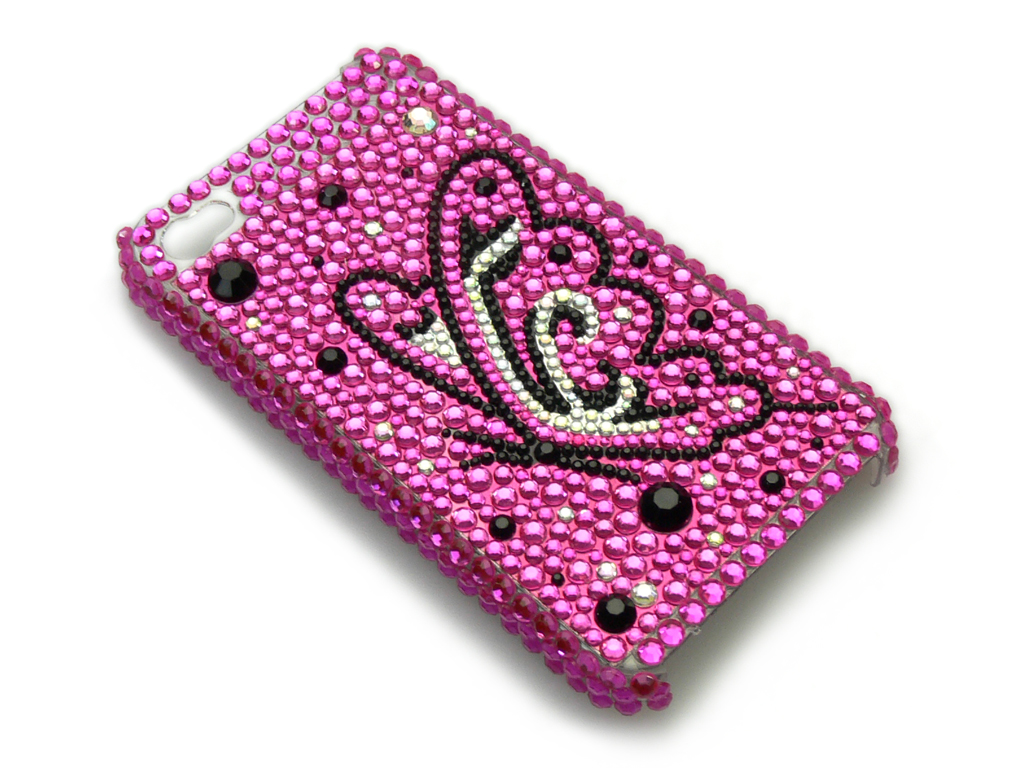 Bling Cover 4/4S Butterfly