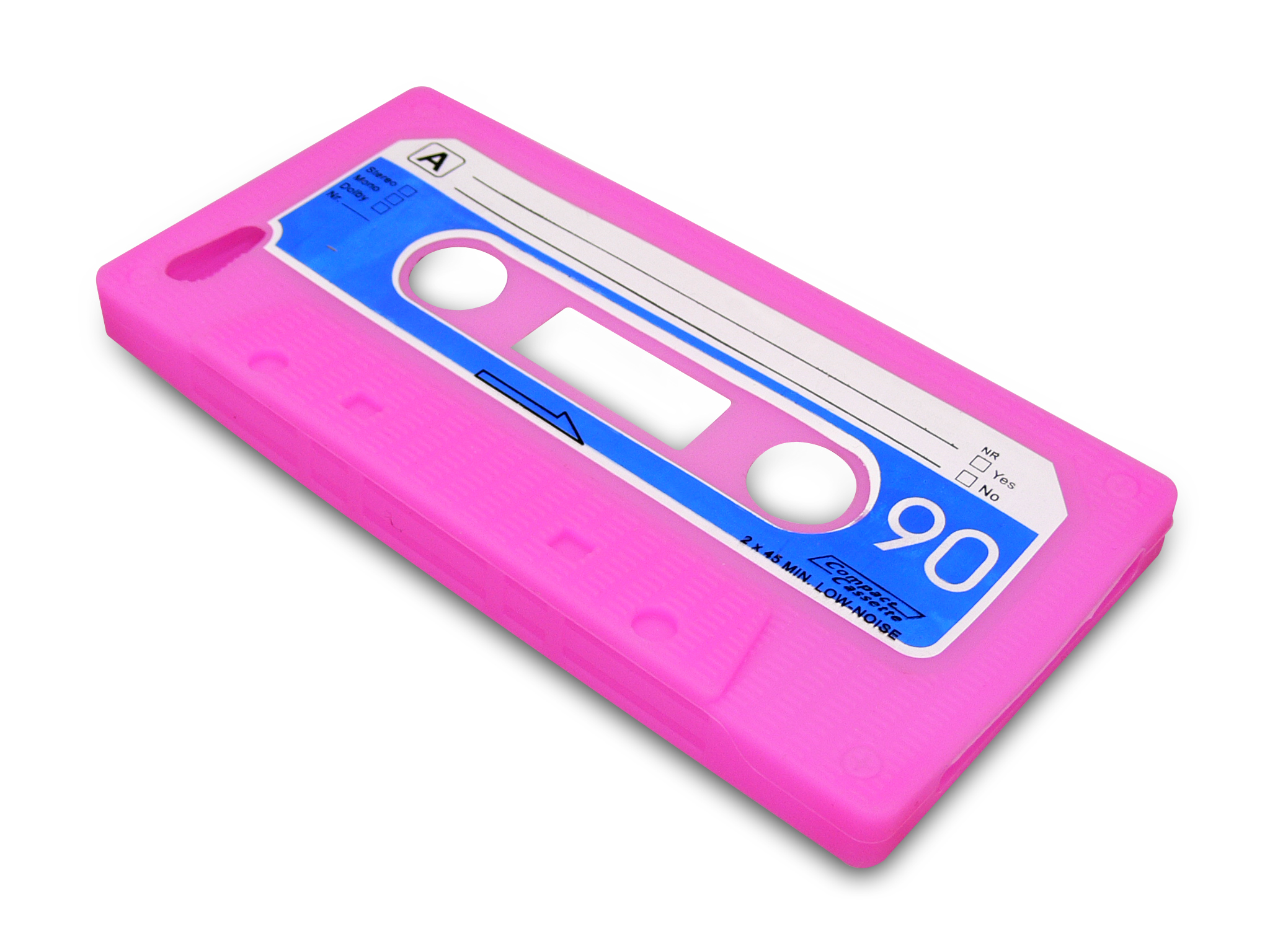 Cover iPhone 5/5S retrotape Pink