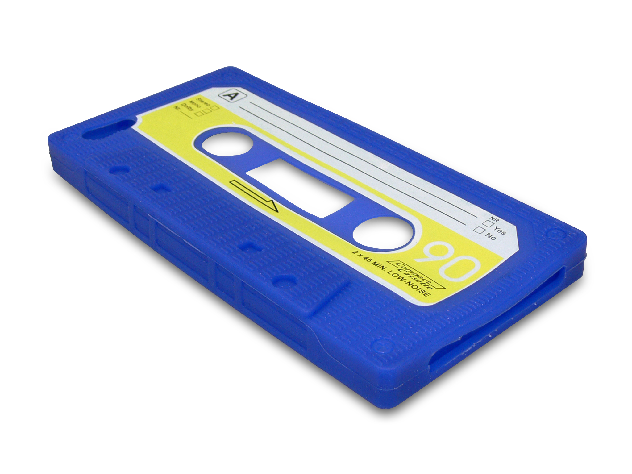 Cover iPh 5/5S retrotape Blue