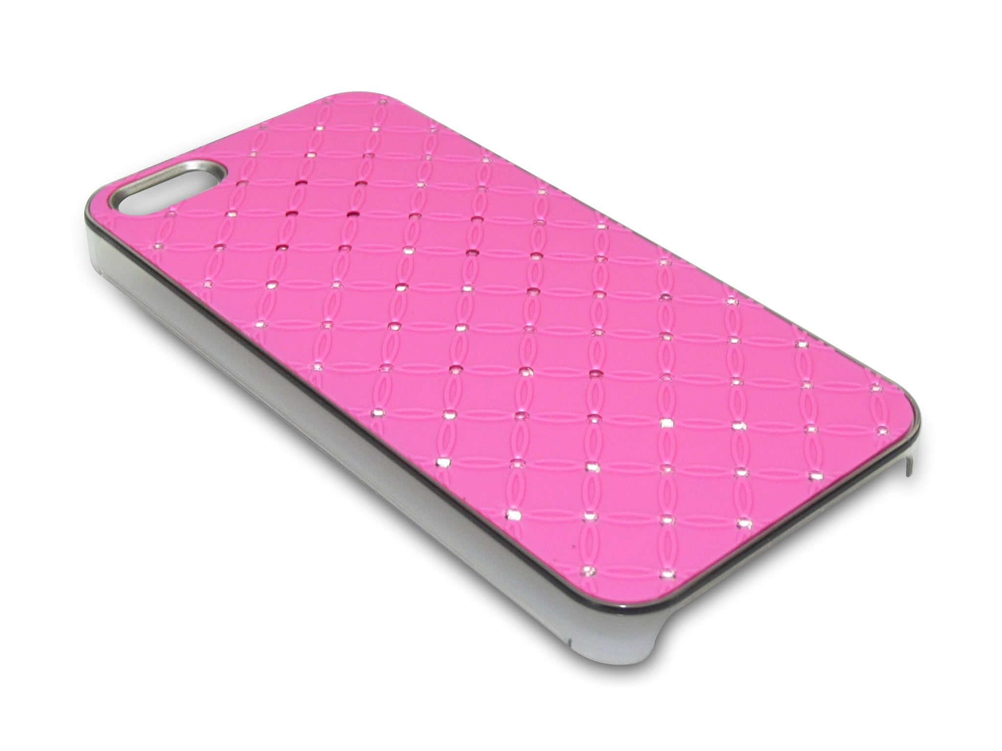 Bling Cover iPh5/5S Diamond Pink