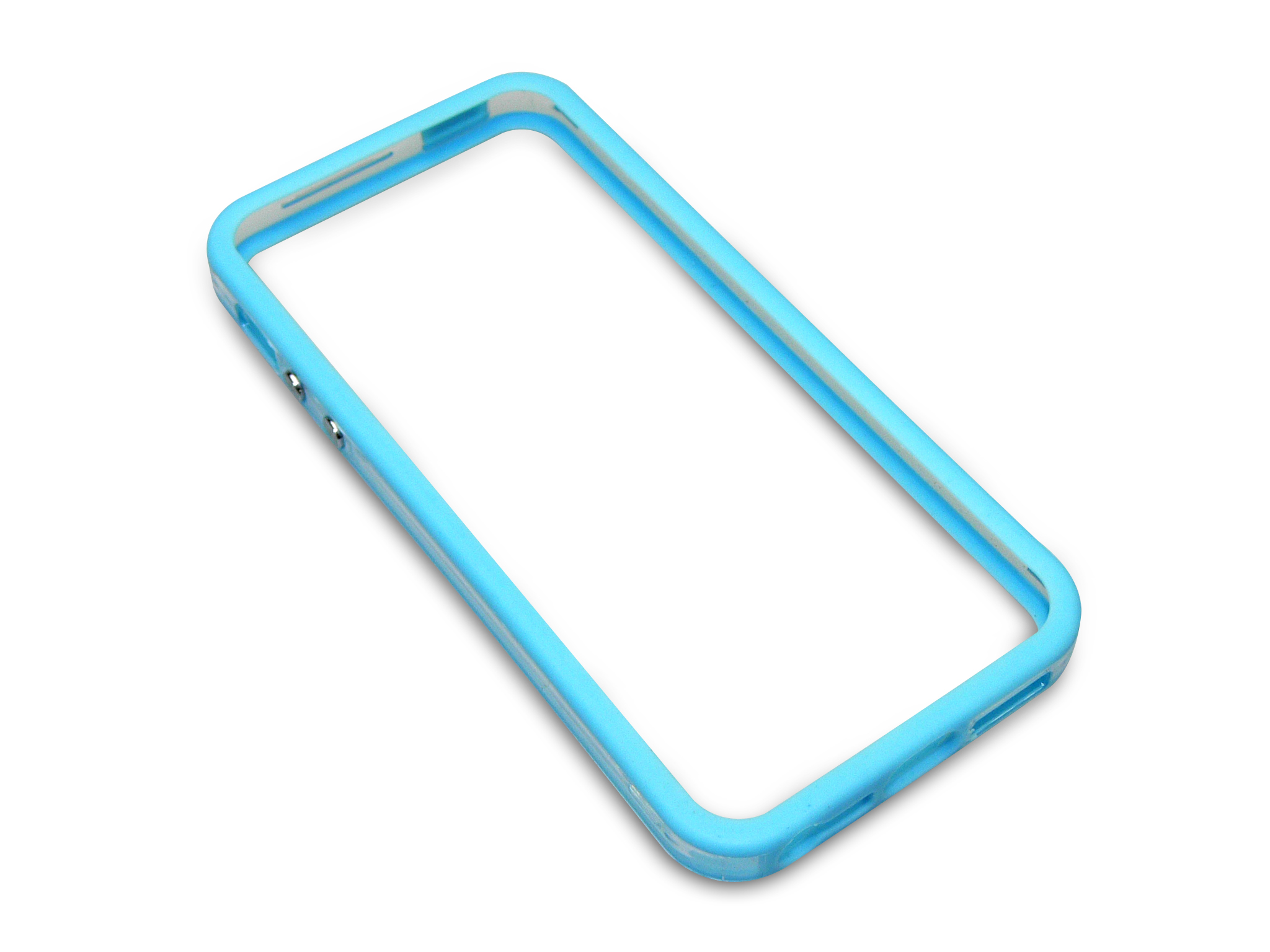 Pro frame Clear+Blue iPhone 5/5S