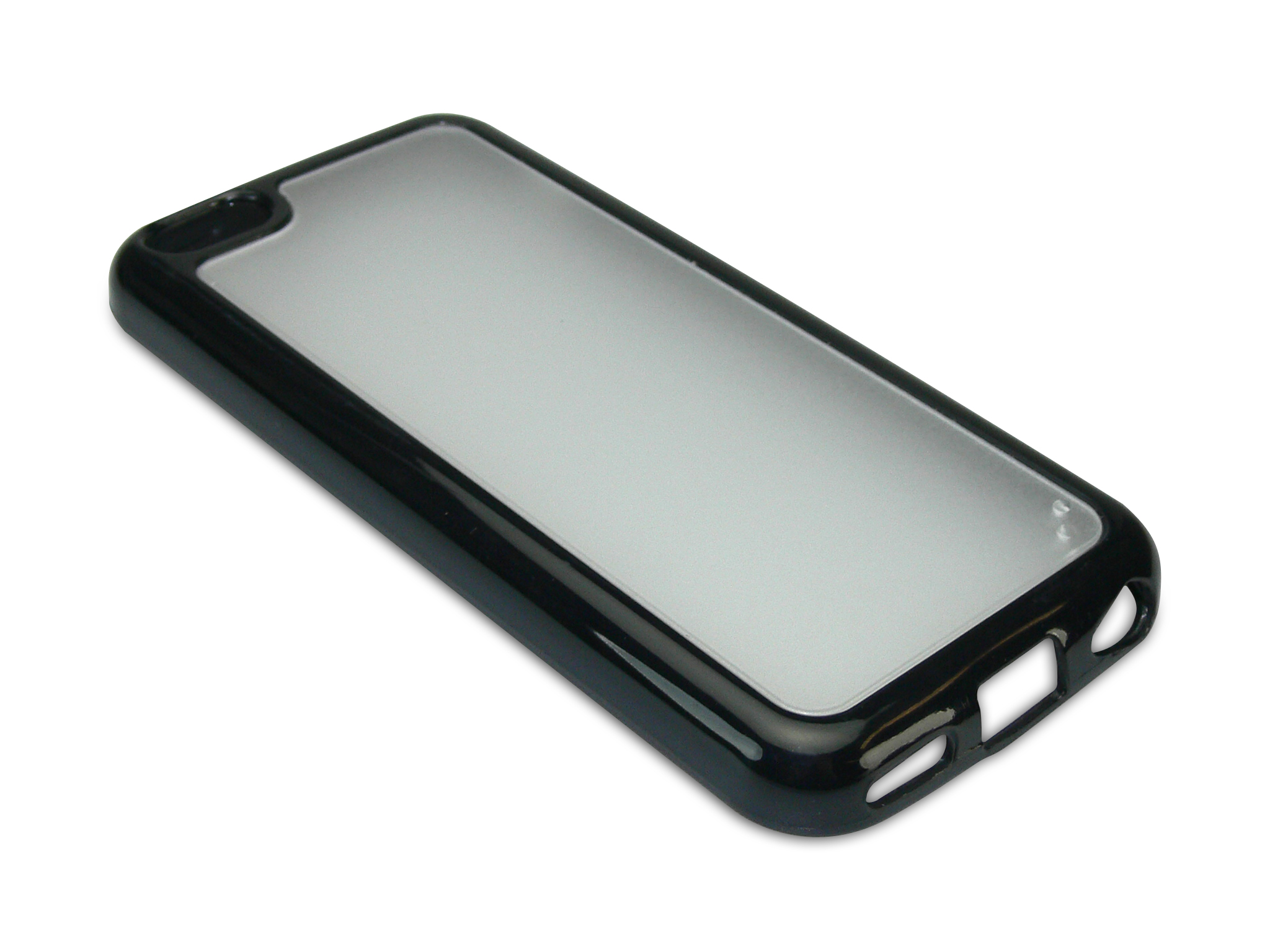 Cover 5C hard+soft frame Black