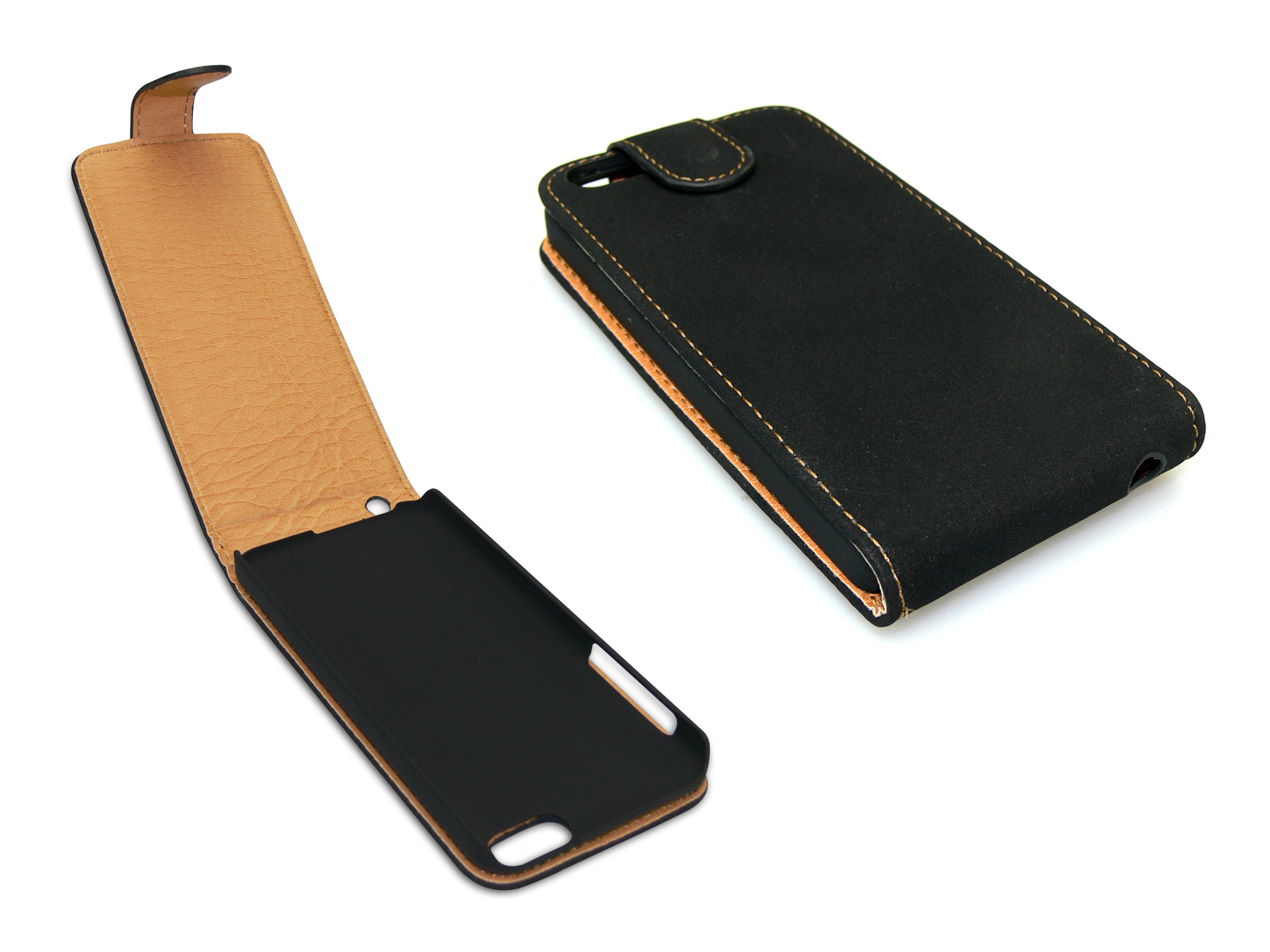 Flip Pouch iPh 5C skin Black