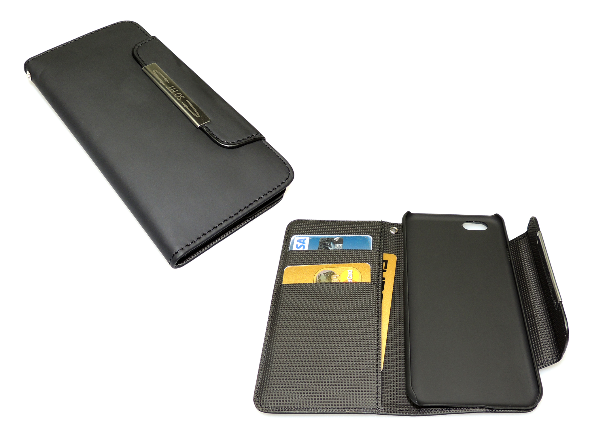Flip wallet iPhone 6 Blackskin