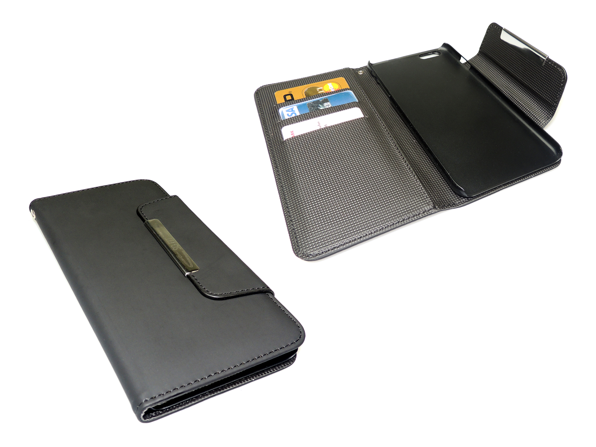 Flip wallet iPhone 6 Plus Blck