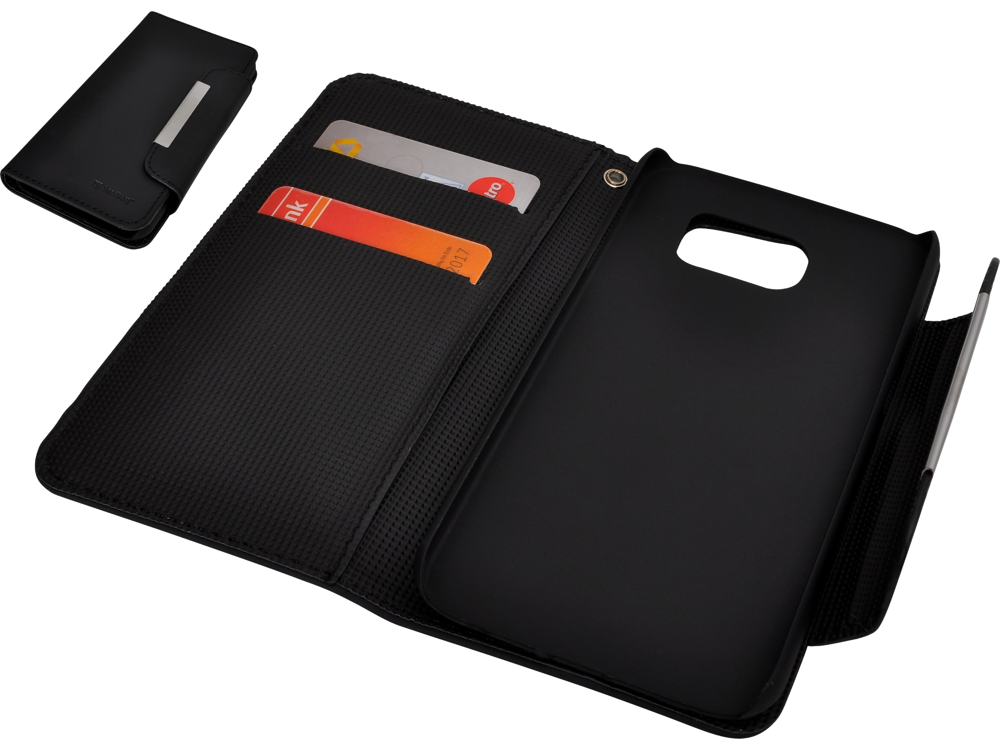 Flip wallet S6 Blackskin