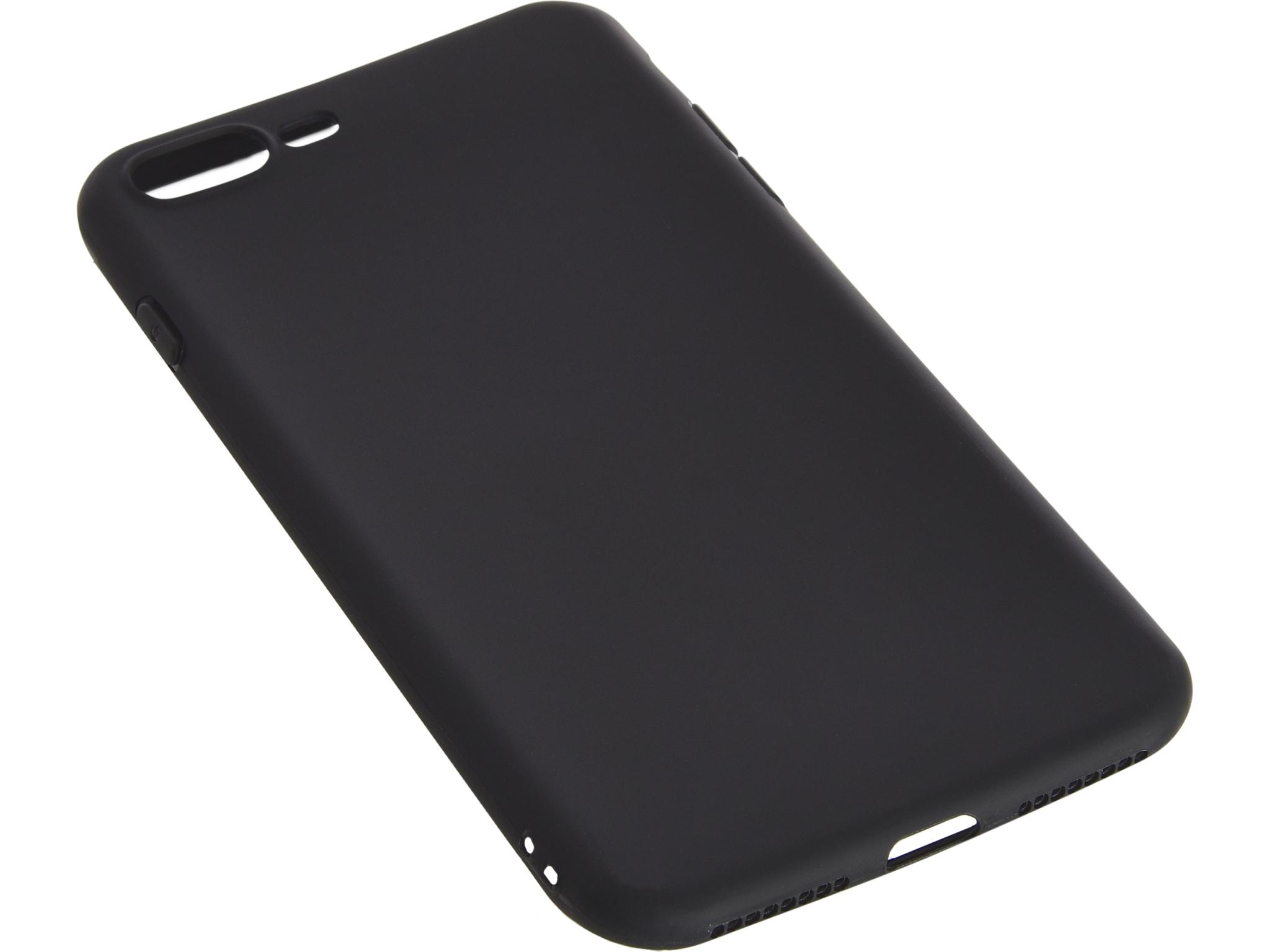 Cover iPhone 7 Plus soft Black