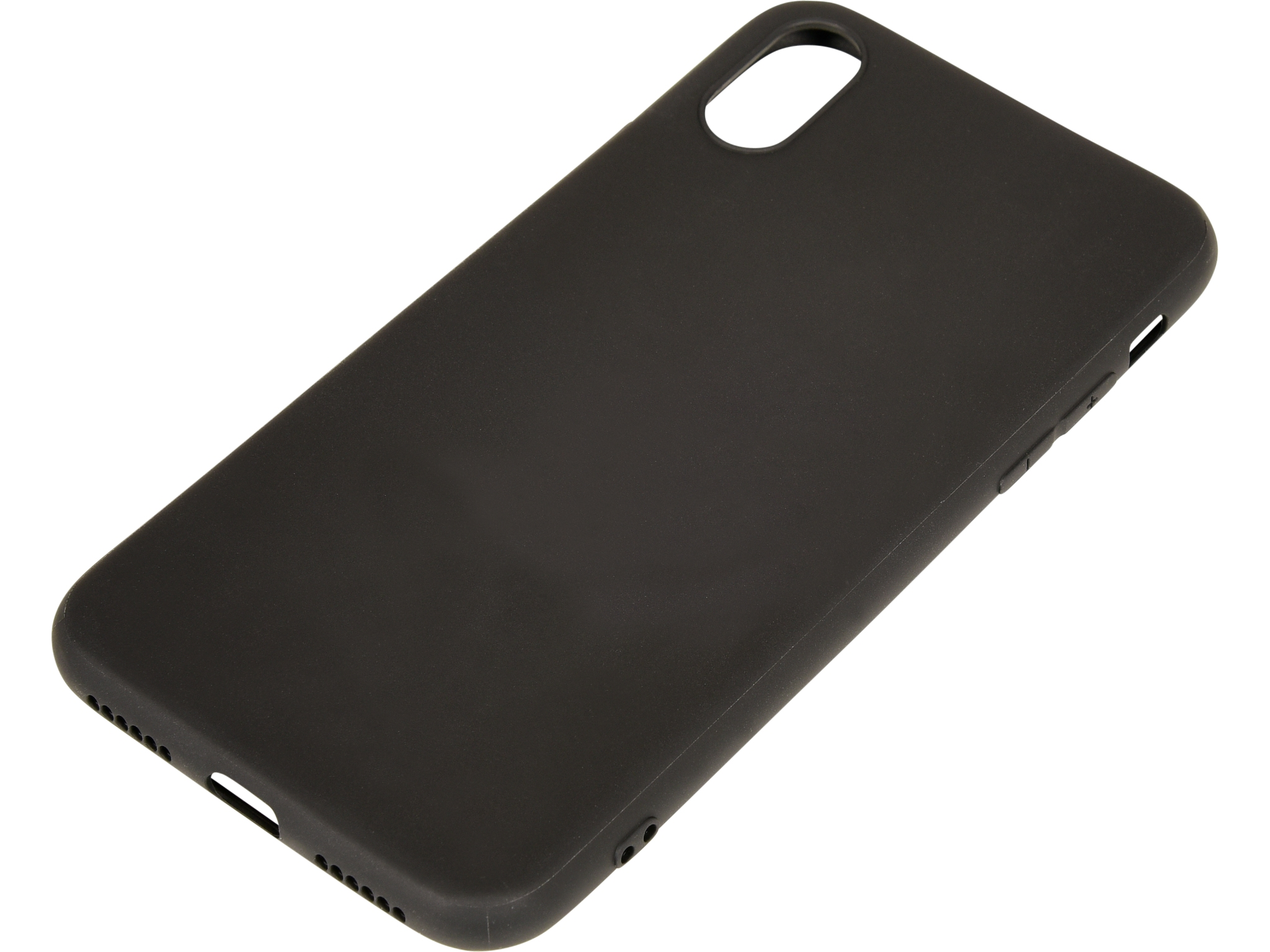Cover iPhone X/XS soft Black