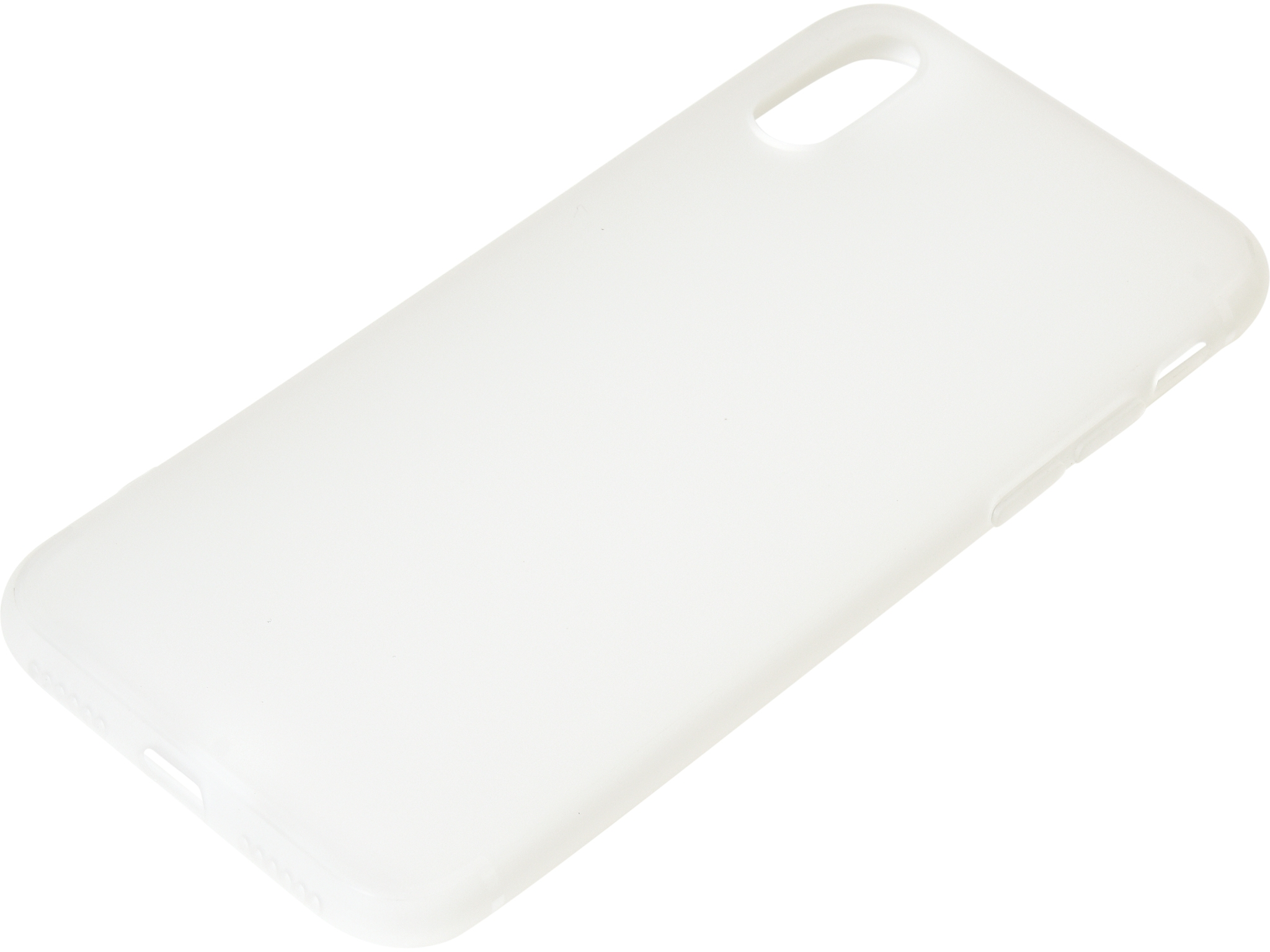 Cover iPhone X/XS soft White
