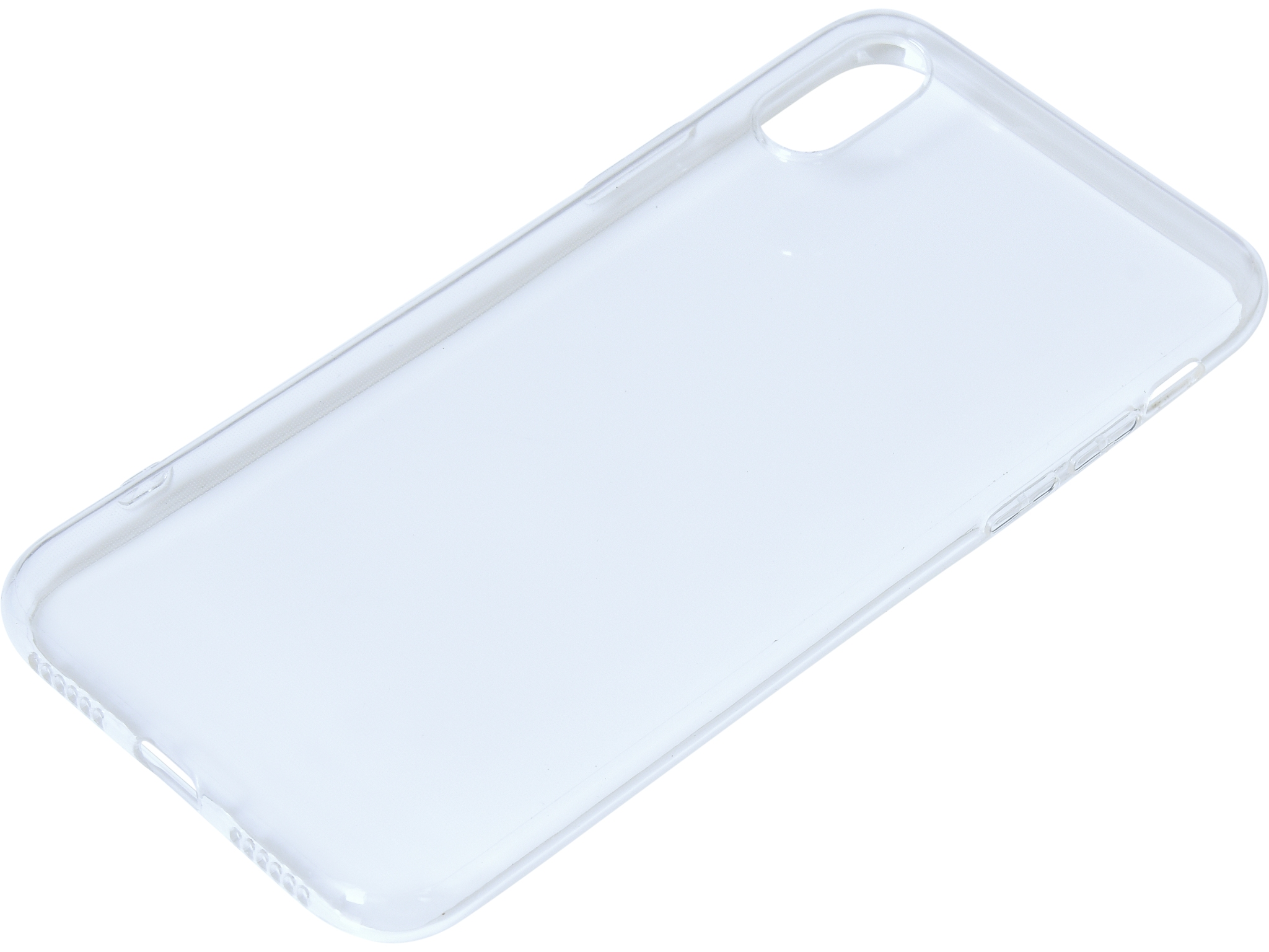 Cover iPhone X/XS soft Clear