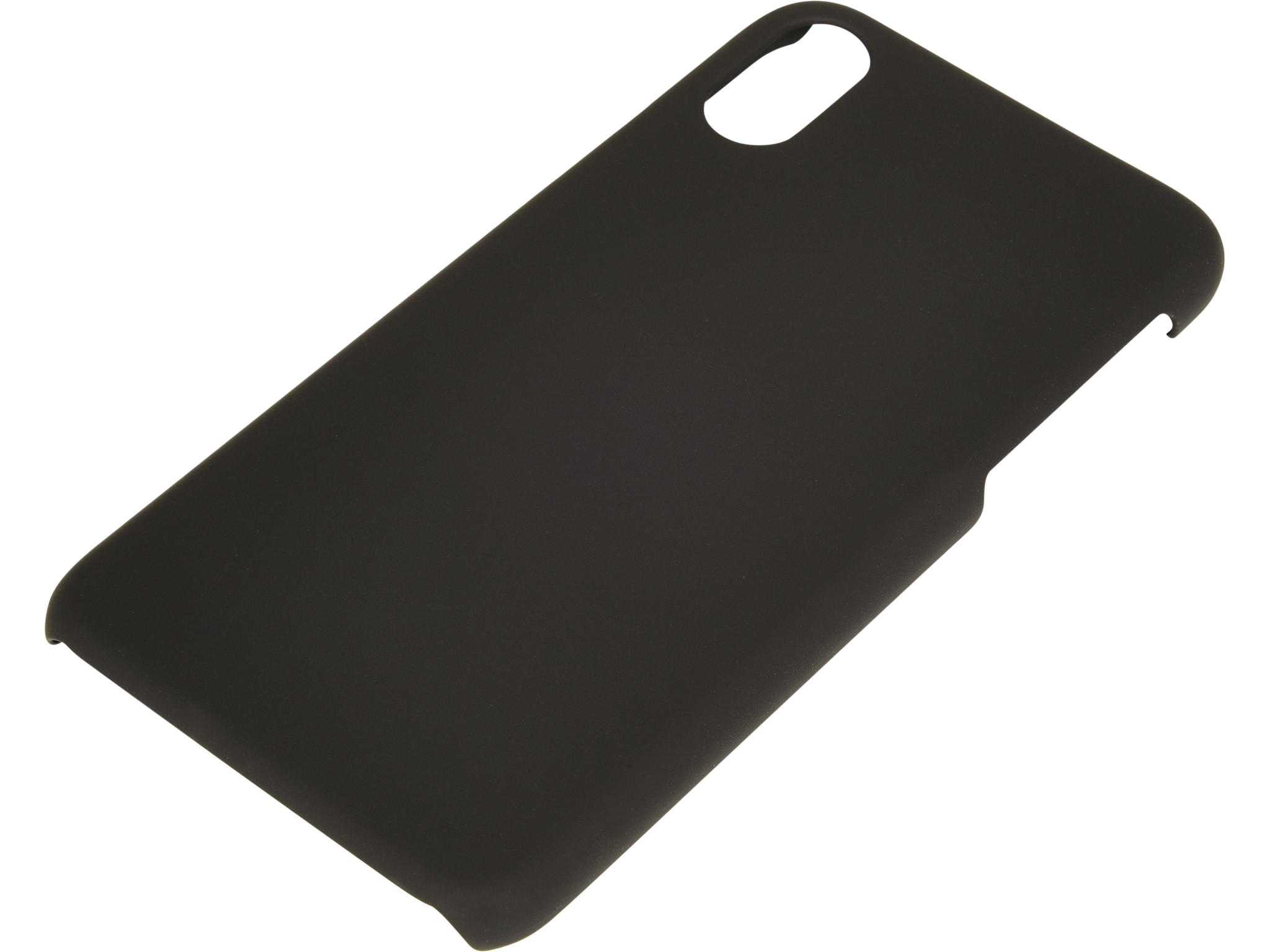 Cover iPhone X/XS hard Black