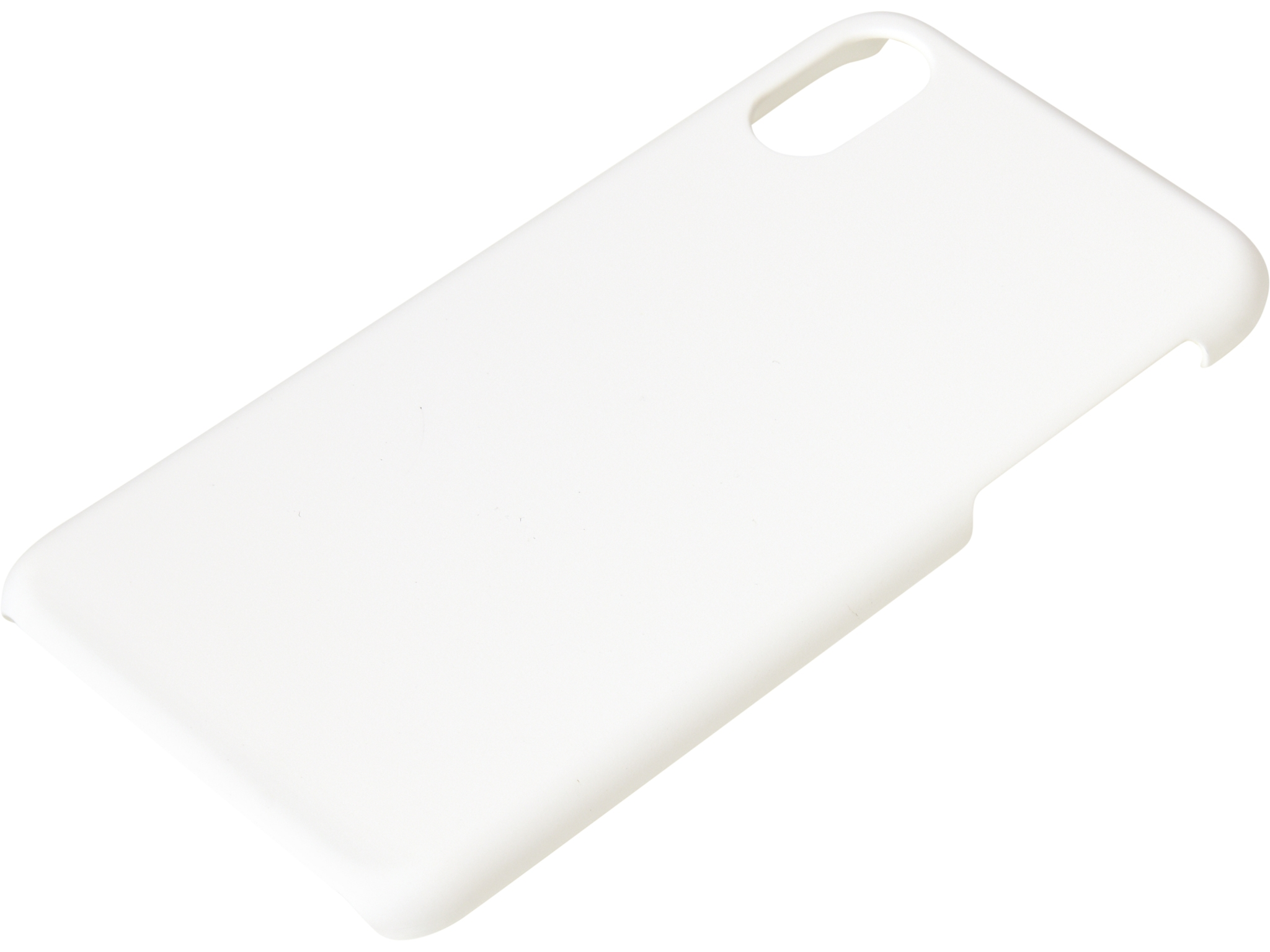 Cover iPhone X/XS hard White
