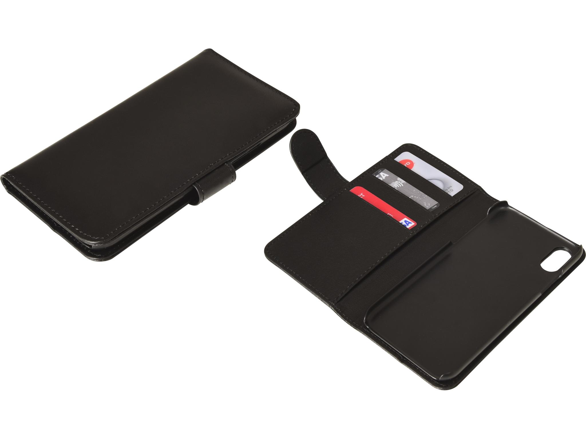 Flip wallet iPhone X/XS Blackskin