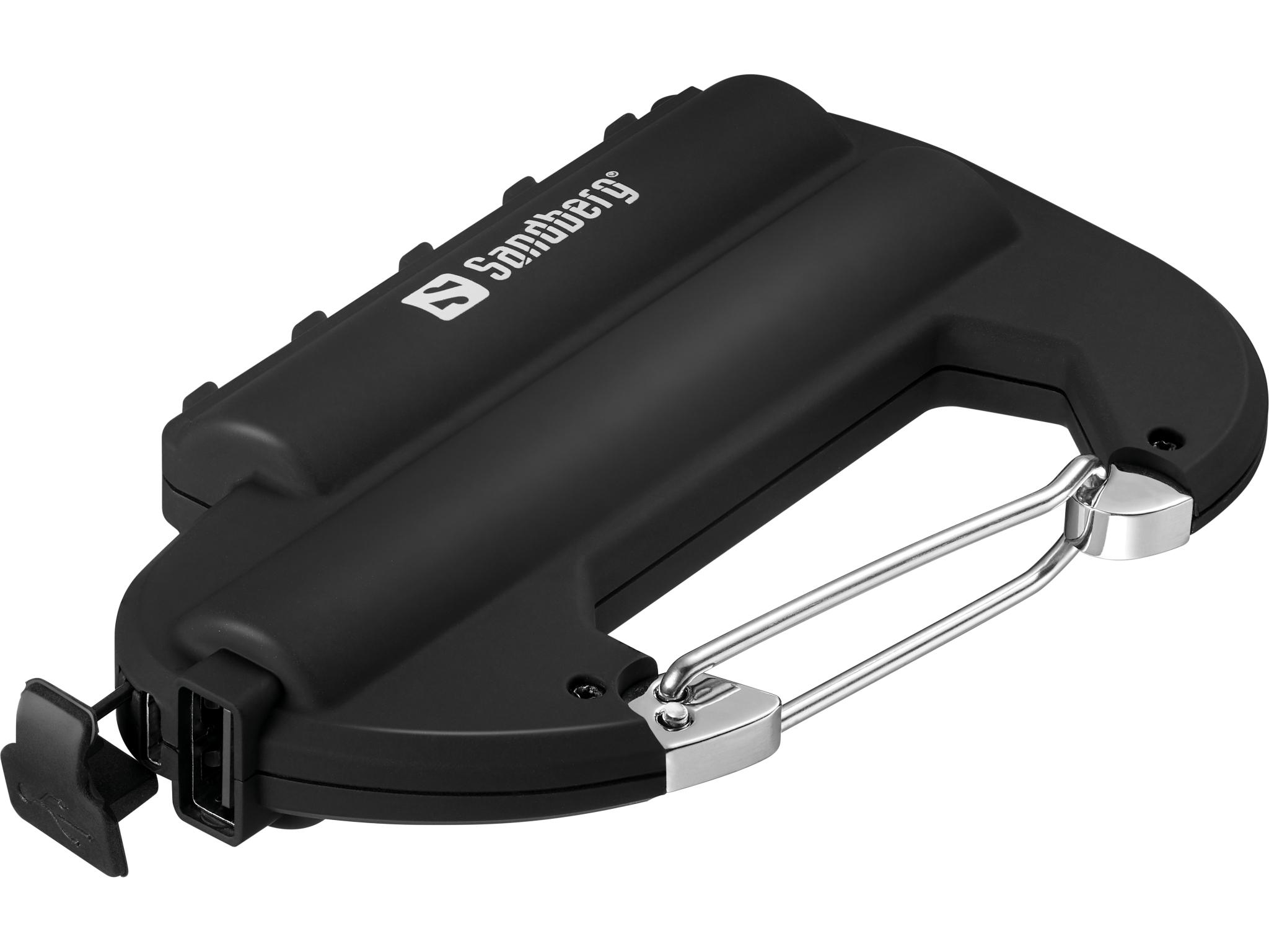 Carabiner Powerbank IP67 6000
