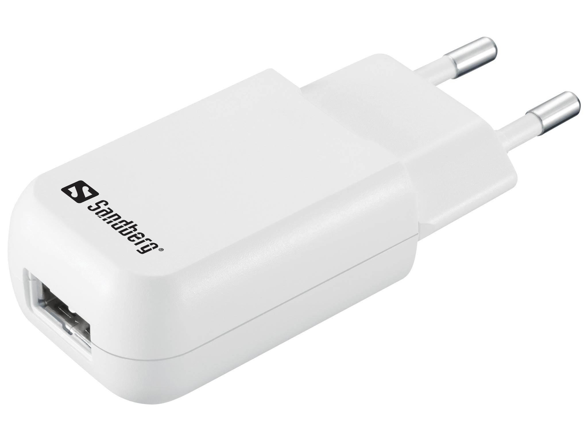 Mini AC charger USB 1A EU
