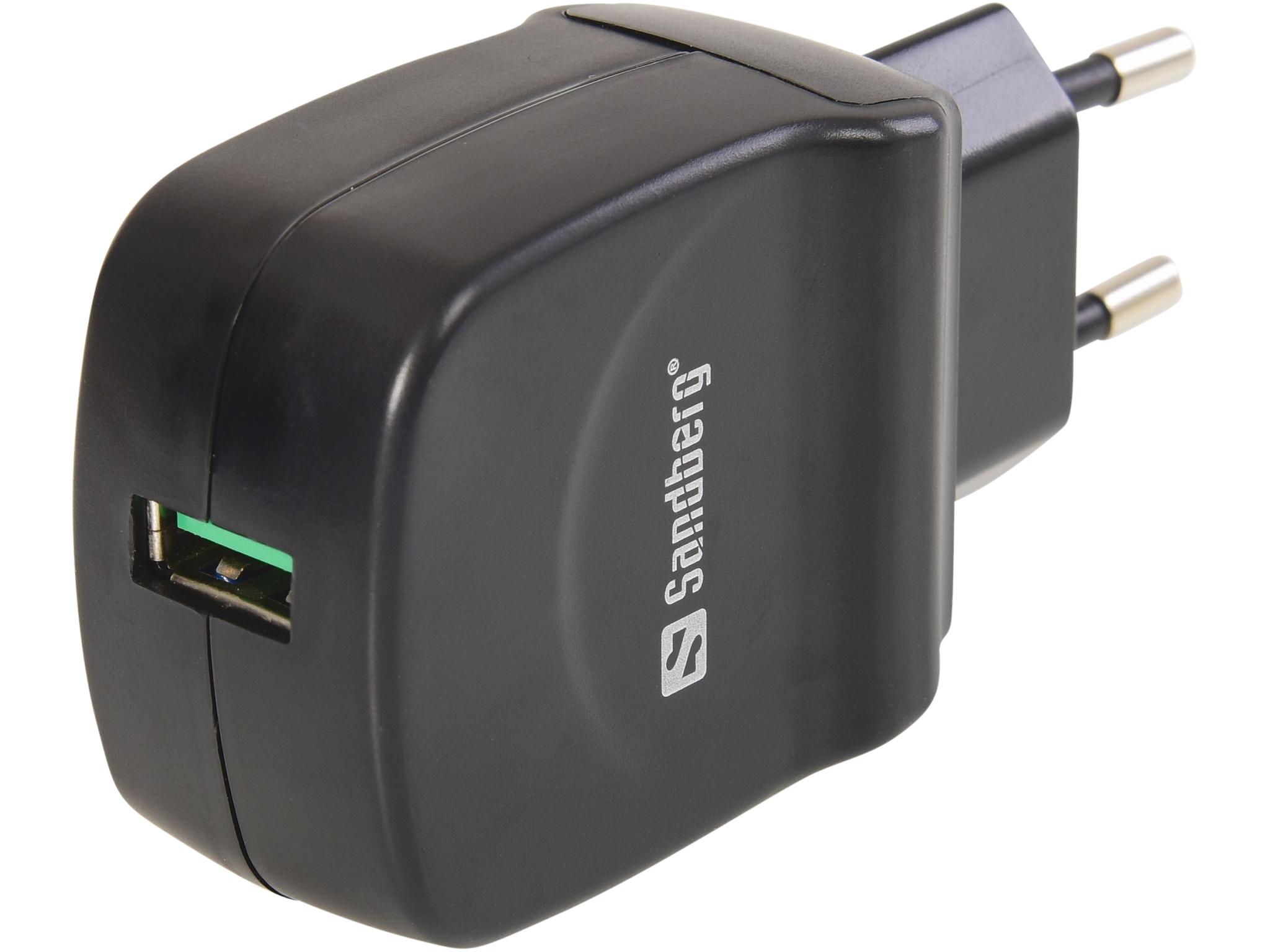 AC Charger QC 3.0 USB EU+UK+US