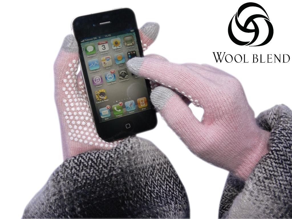 Handschuhe Für Touch Screen Handy Tablet Ipad Iphone Dot Gloves Onesize Pink Handys & Kommunikation Damen-accessoires