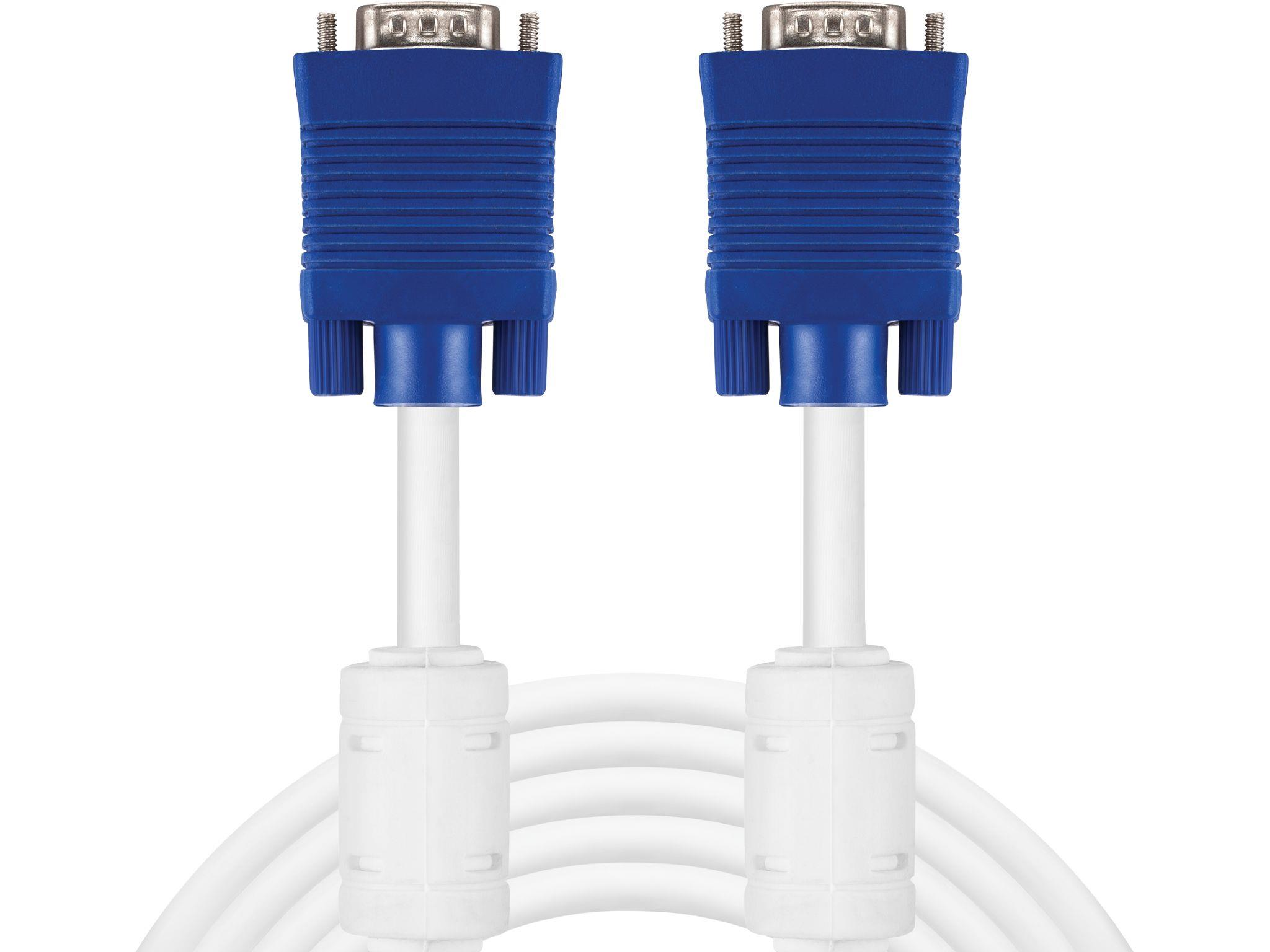 Monitor Cable VGA LUX  5 m