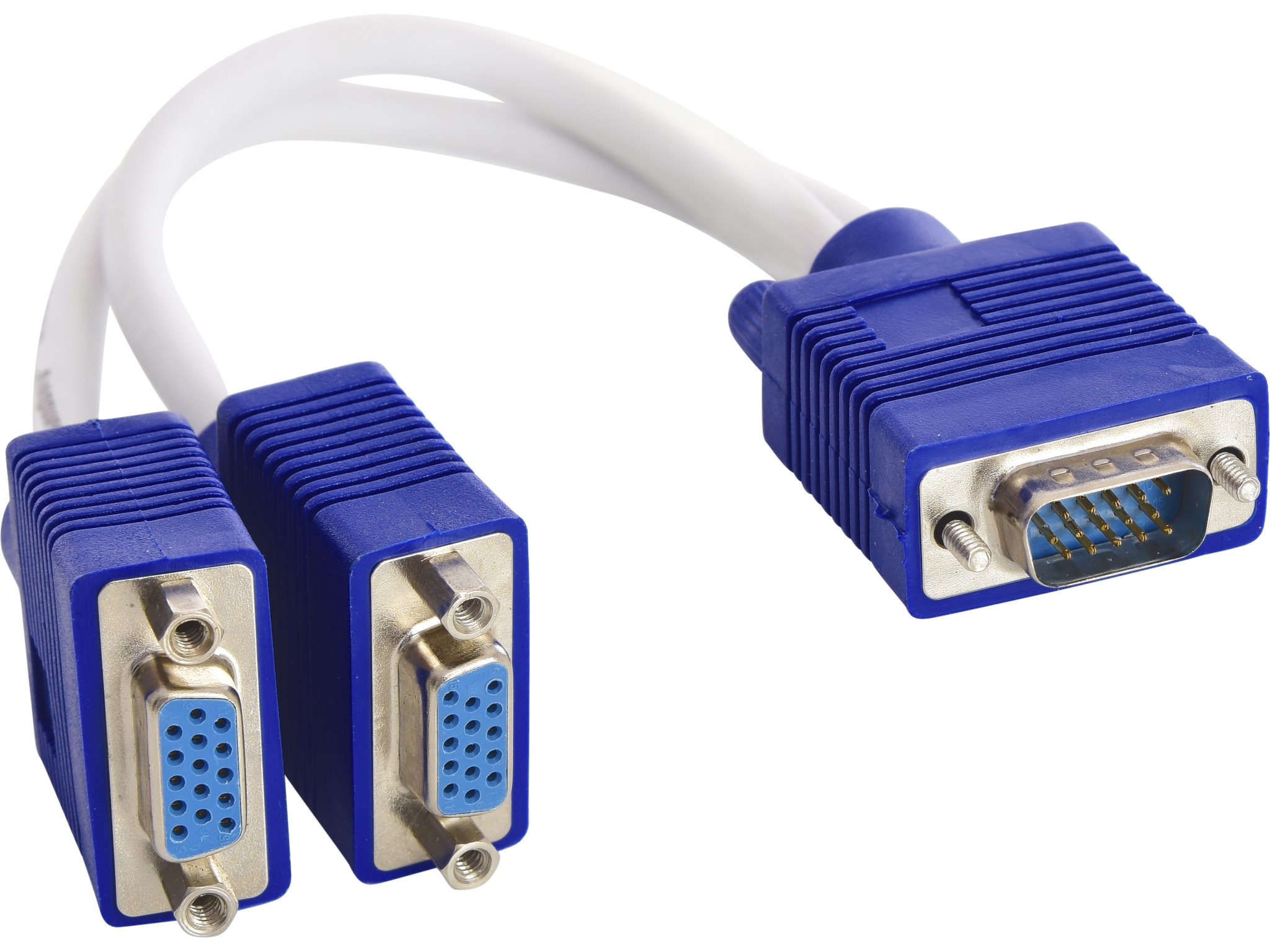 VGA Y-splitter 1 to 2, passive
