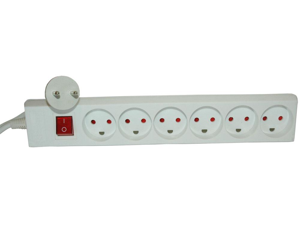 230V Powersplitter, 2pin (DK)