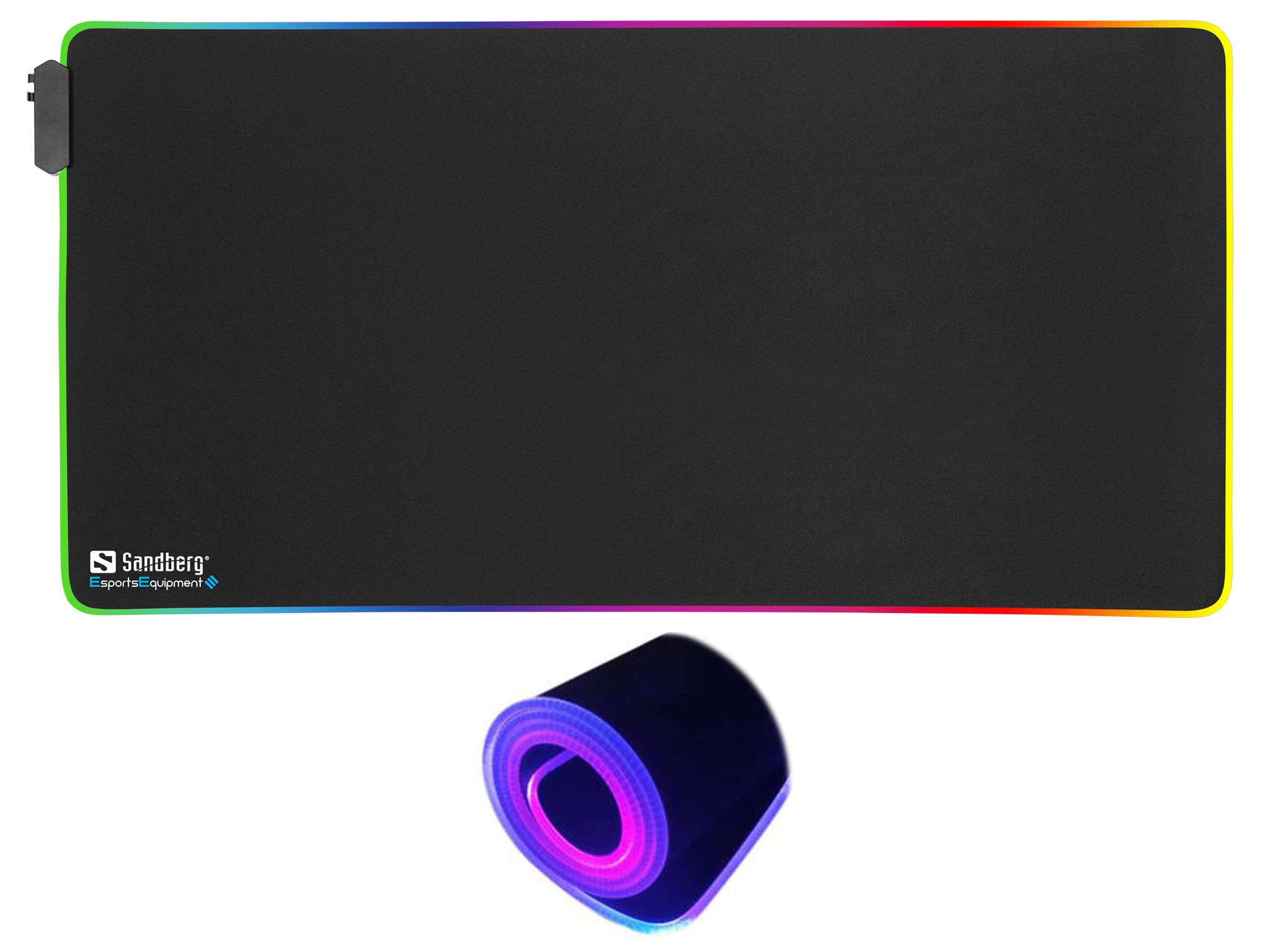 RGB Soft Desk Pad XXXL