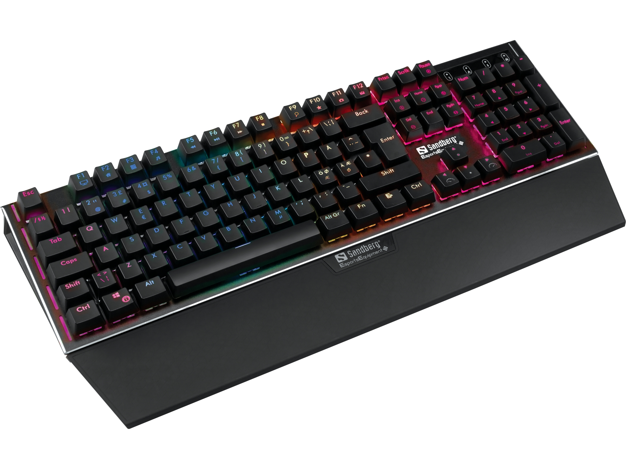 FireStorm Mech Keyboard Nordic