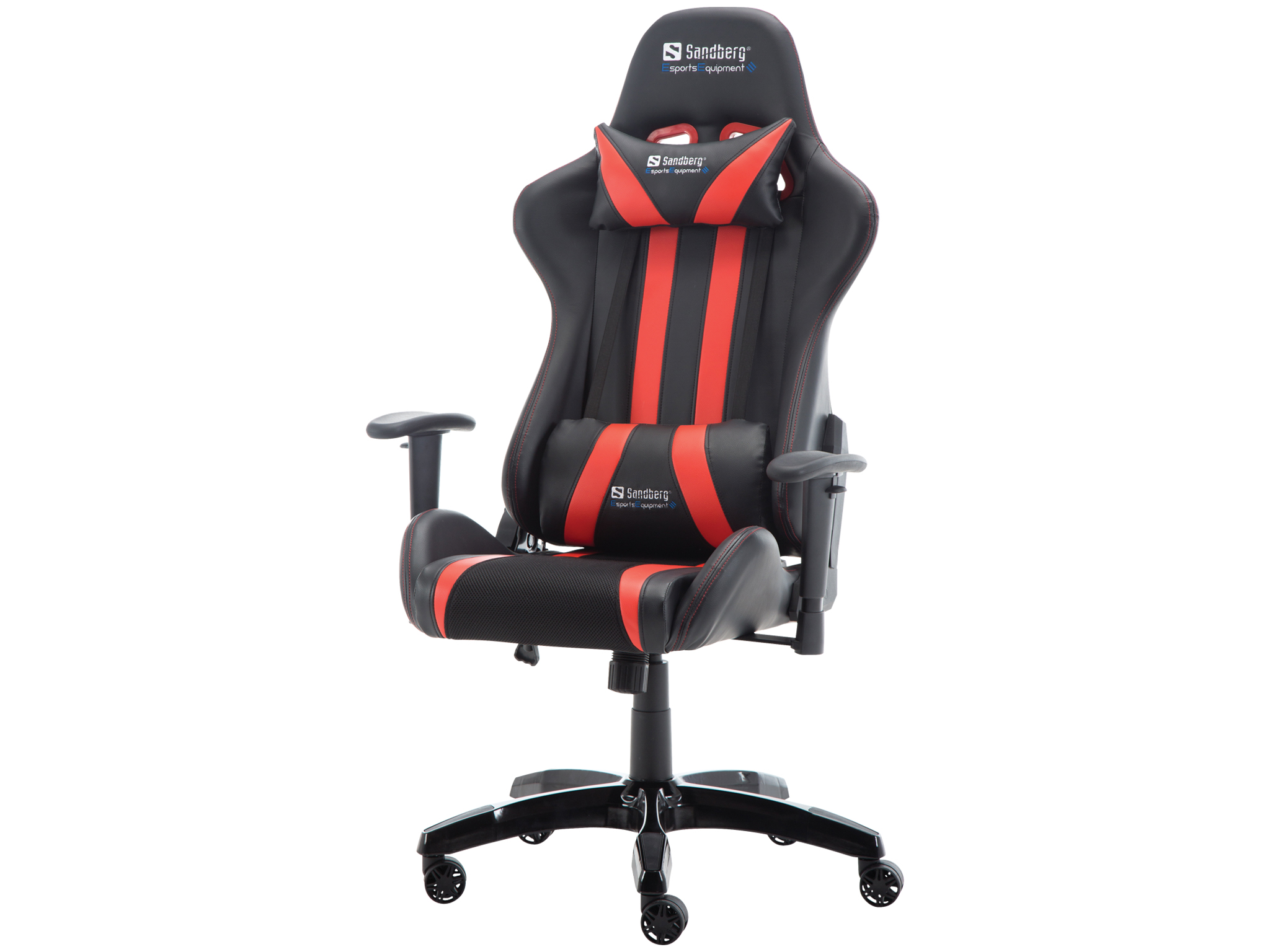 Terrific Commander Gaming Chair Blk Red Dailytribune Chair Design For Home Dailytribuneorg