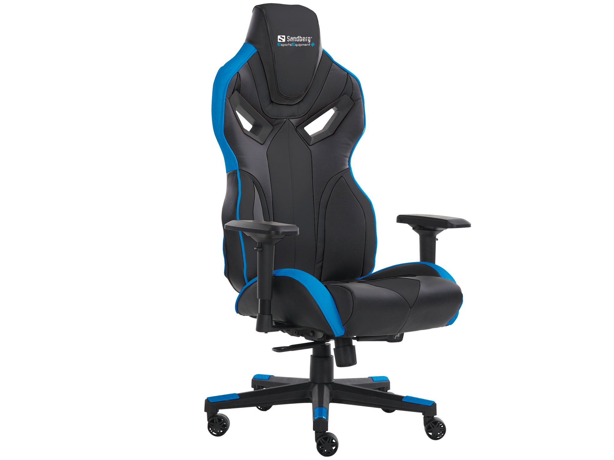 Voodoo Gaming Chair Black/Blue