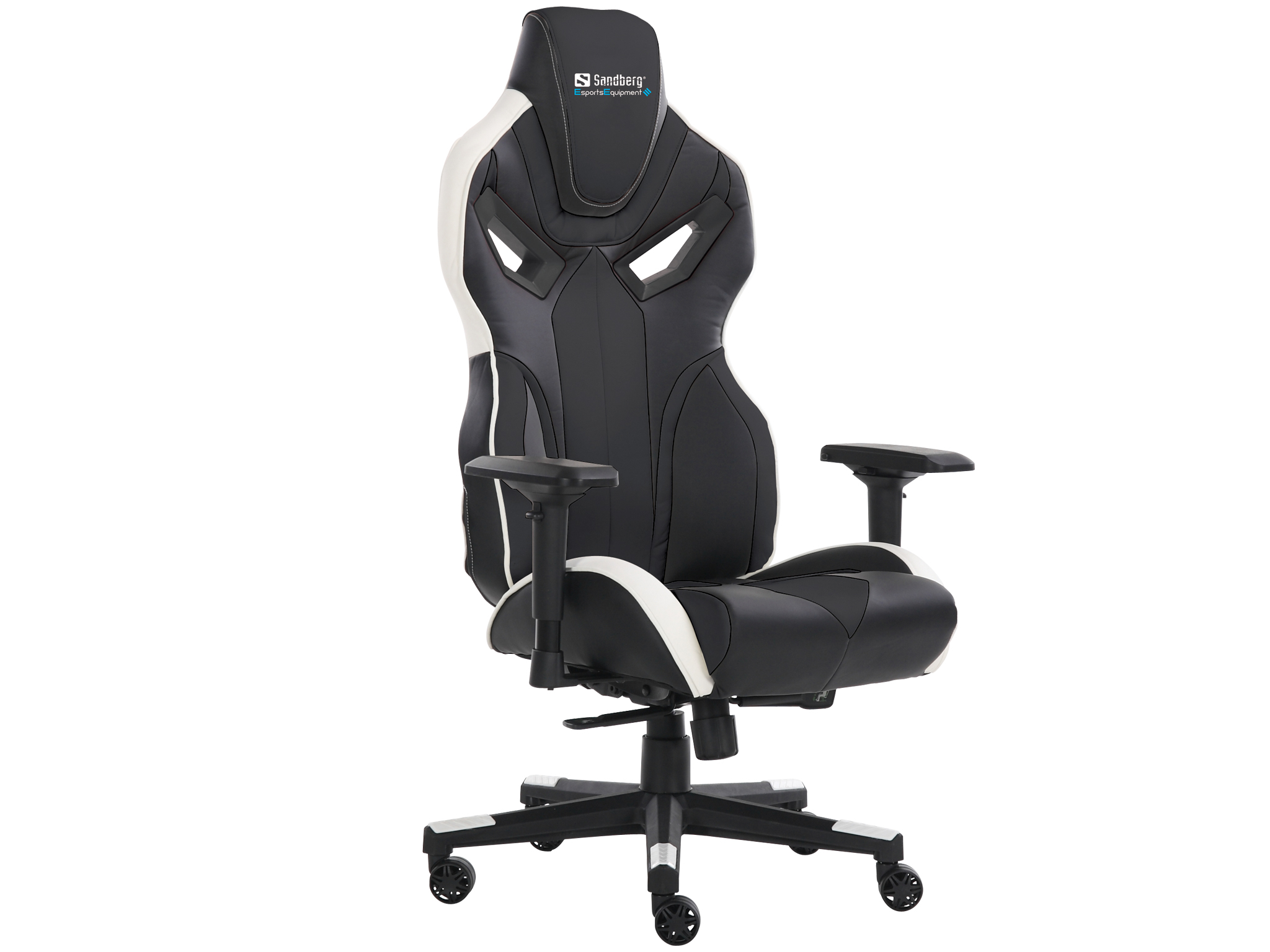 Voodoo Gaming Chair Black/Whit
