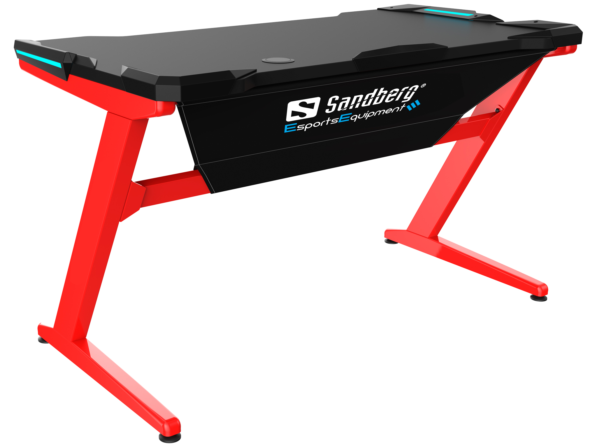 Fighter Gaming Desk, Red