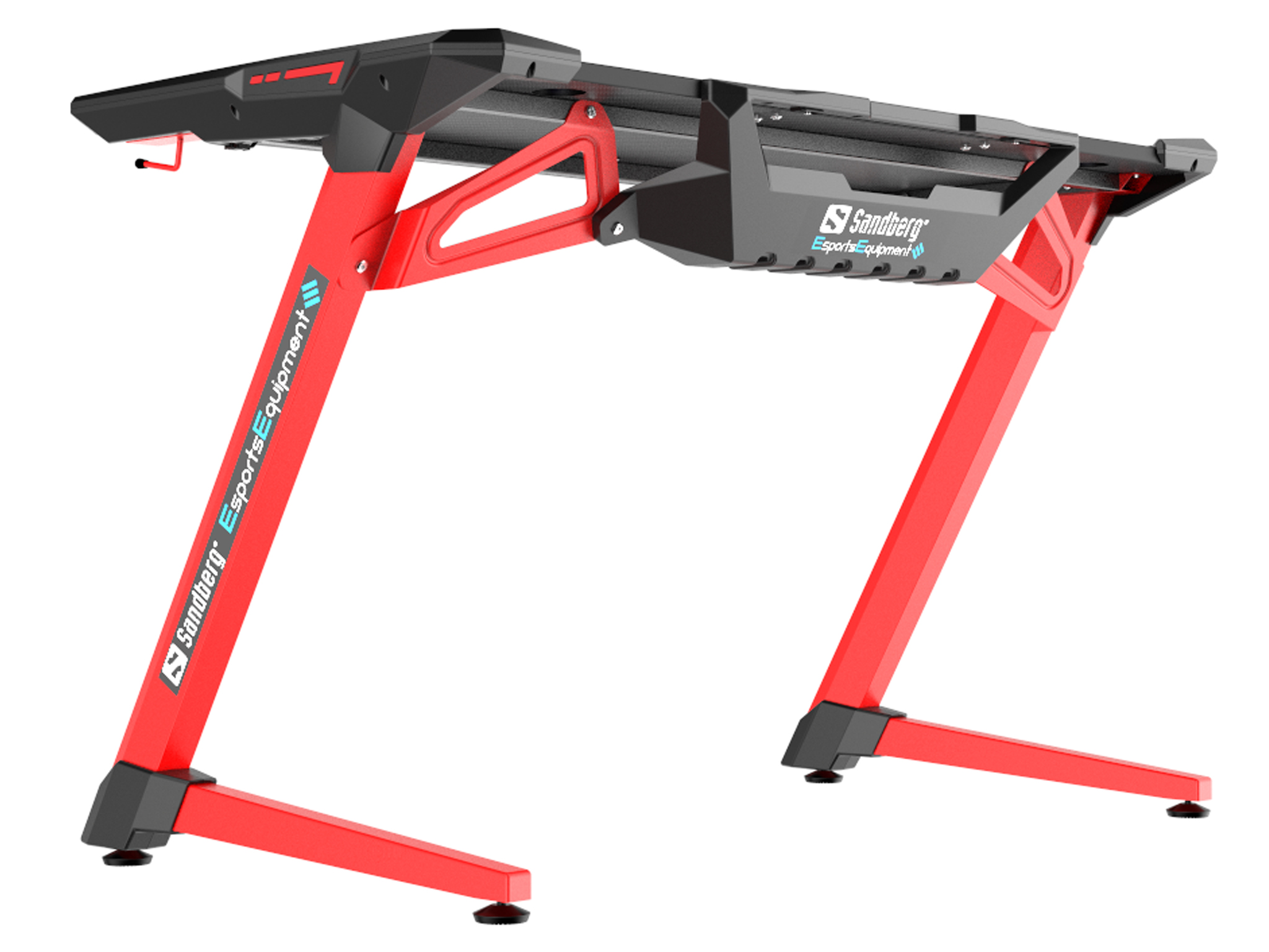 Fighter Gaming Desk 2, Red