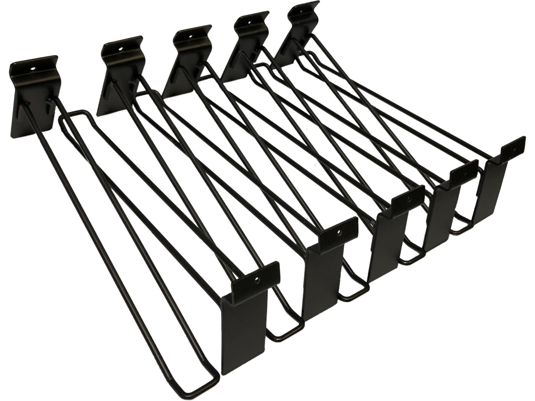 Hooks for Alu Slatwall 10-Pack