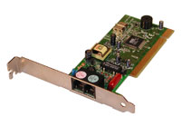 PCI-Card: modem 56K