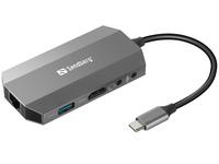 USB-C 6-in1 Travel Dock