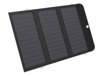 Solar Charger 21W 2xUSB+USB-C