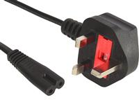 230V Cable UK 2 pins, 1.8 m
