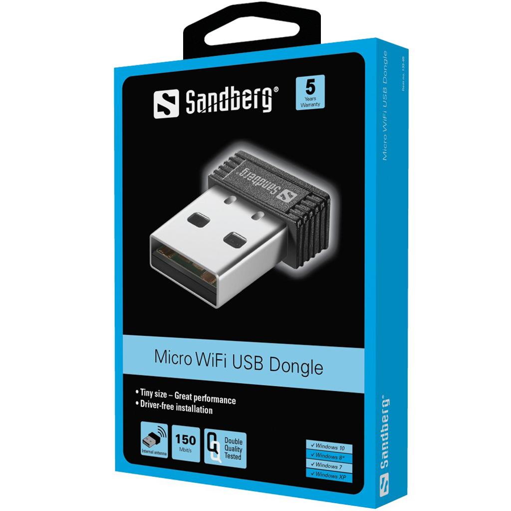 Micro WiFi USB Dongle
