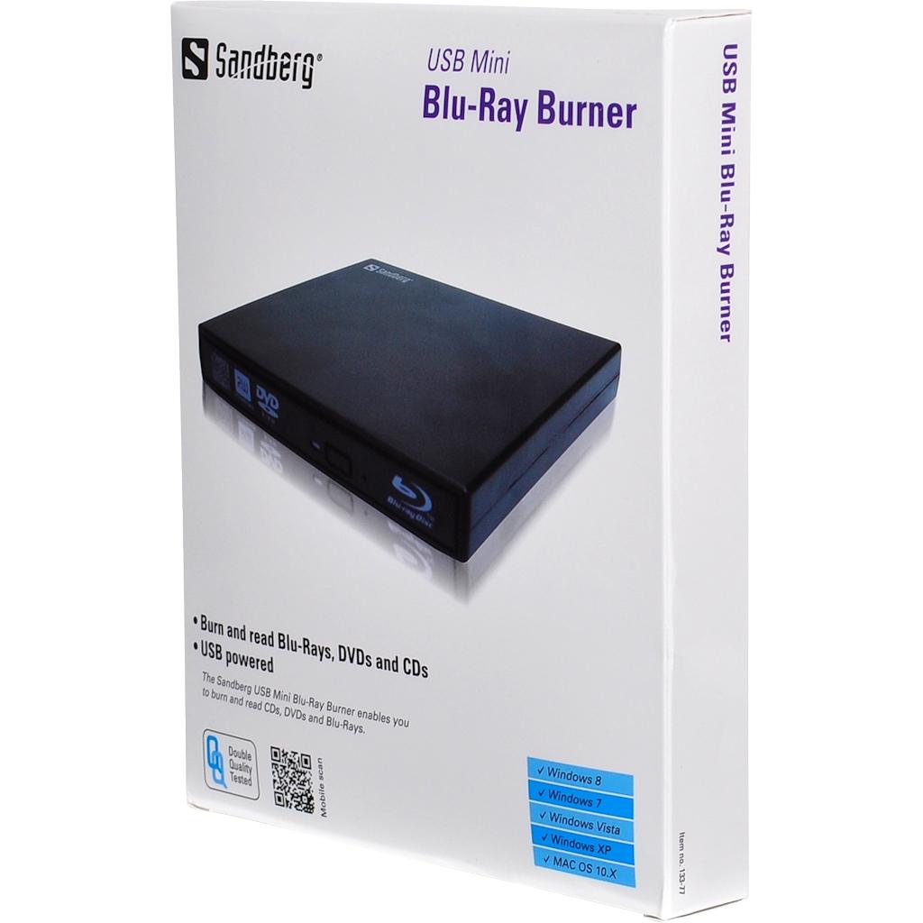 USB Mini Blu-Ray Burner